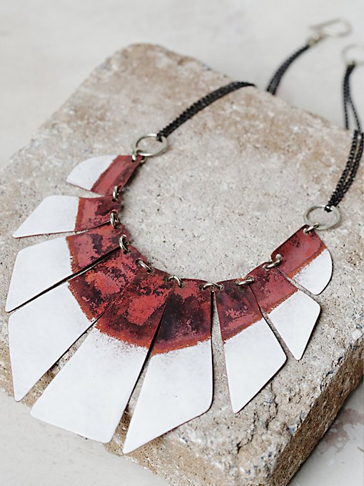 Product Image: Lost In The Abyss Enamel Collar
