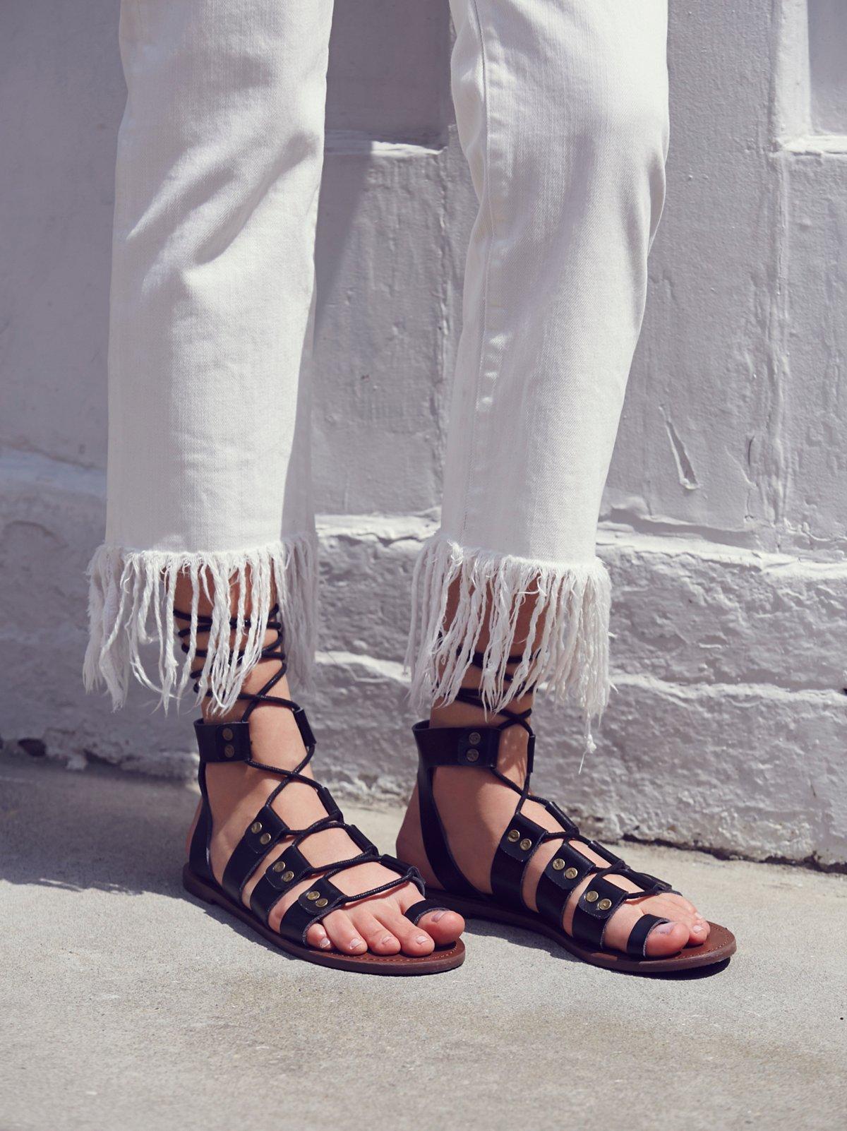 Vegan Mica Lace Sandal