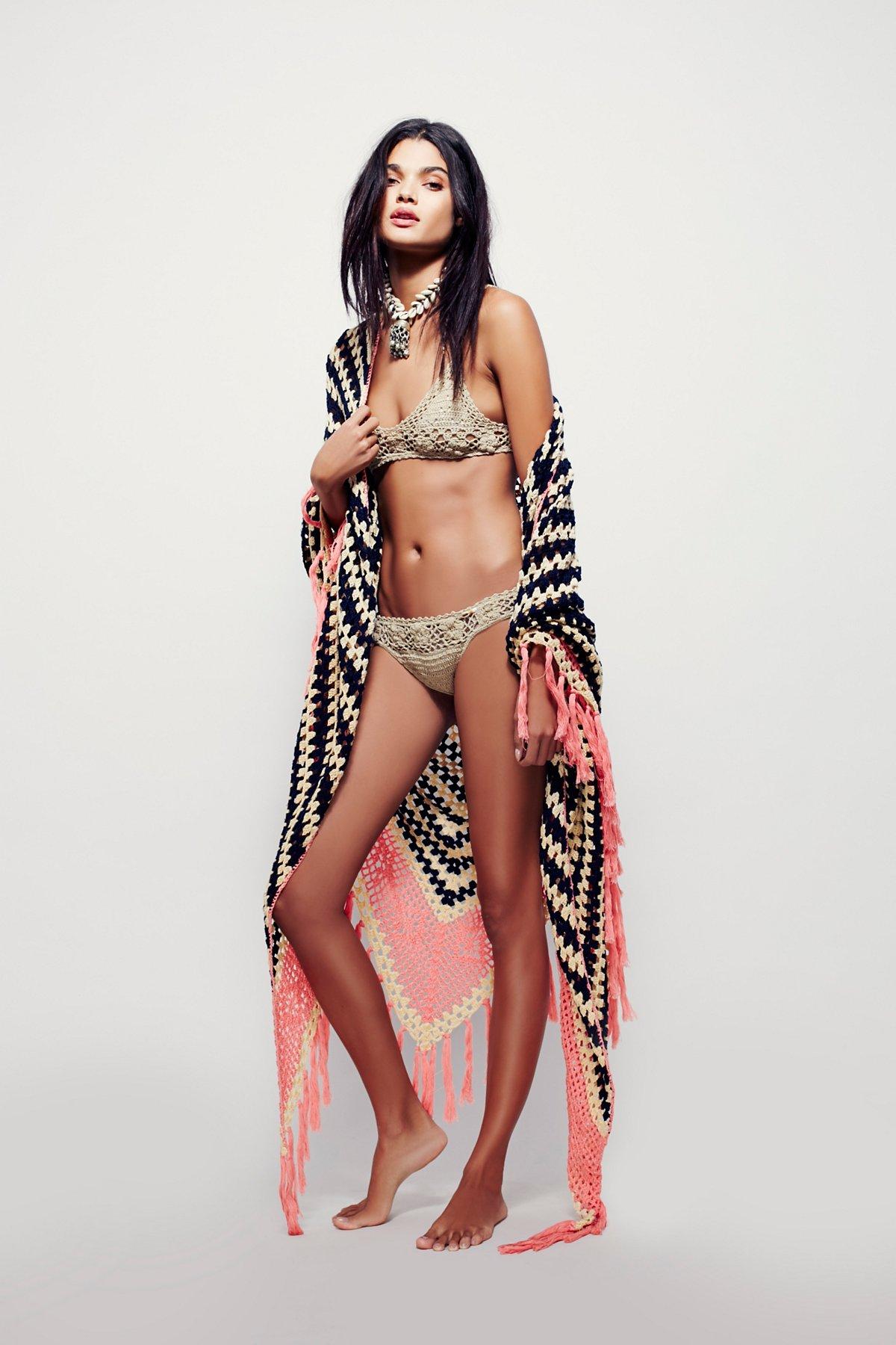 Multi Love Crochet Blanket