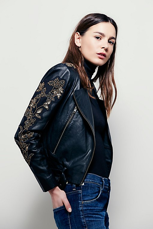 Product Image: Doma Embroidered Cropped Jacket