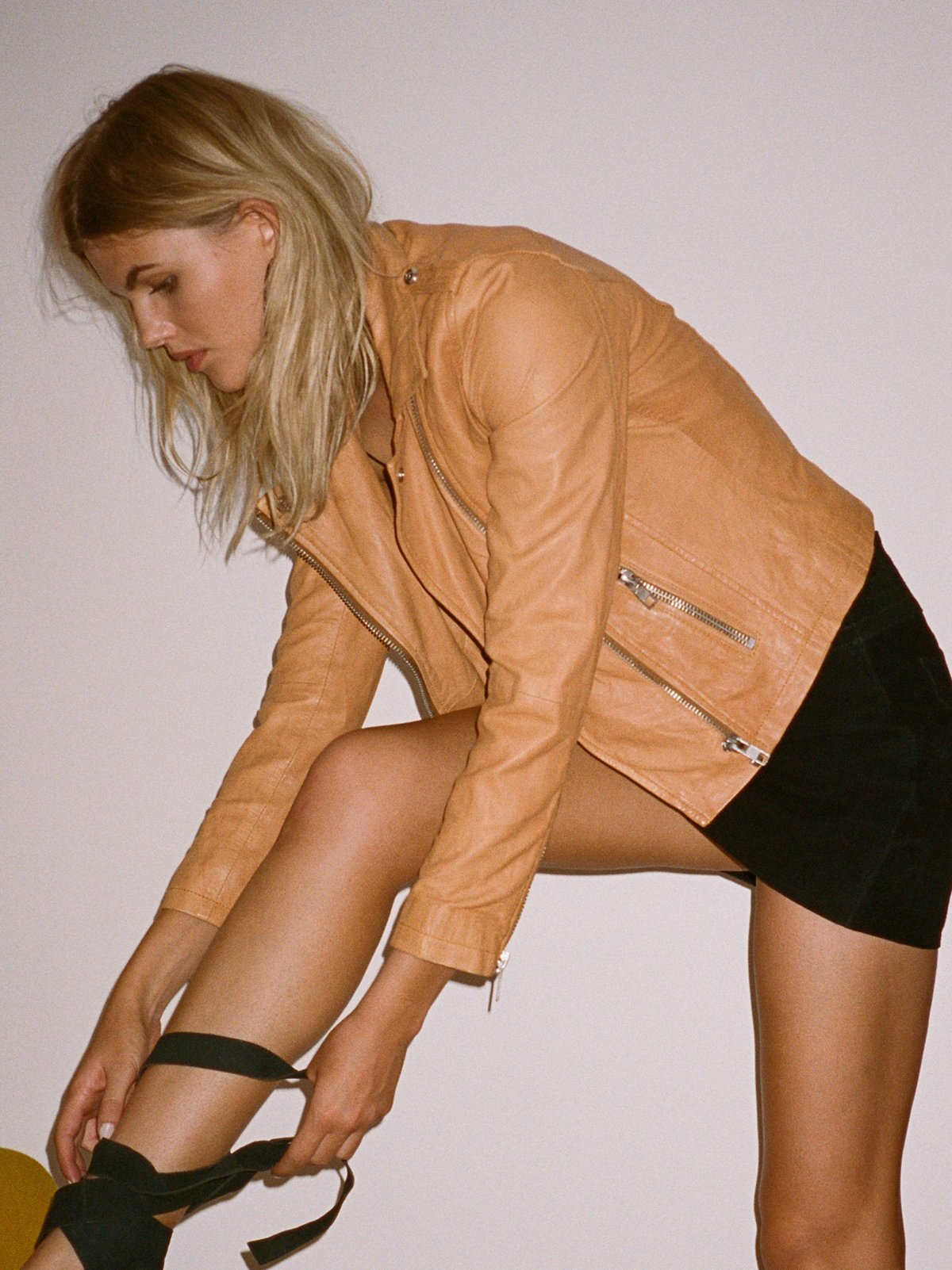 Doma Leather Biker Jacket