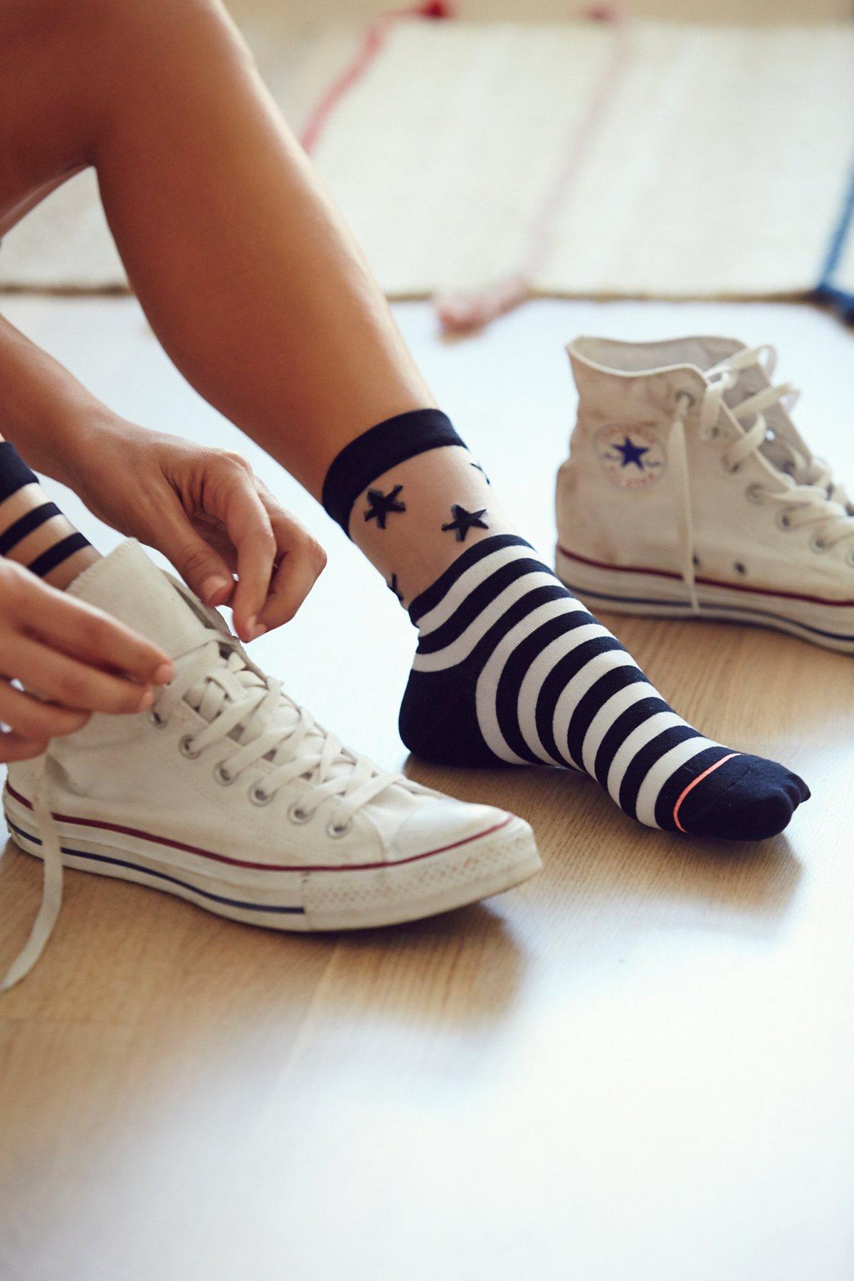 Nova Sheer Crew Sock