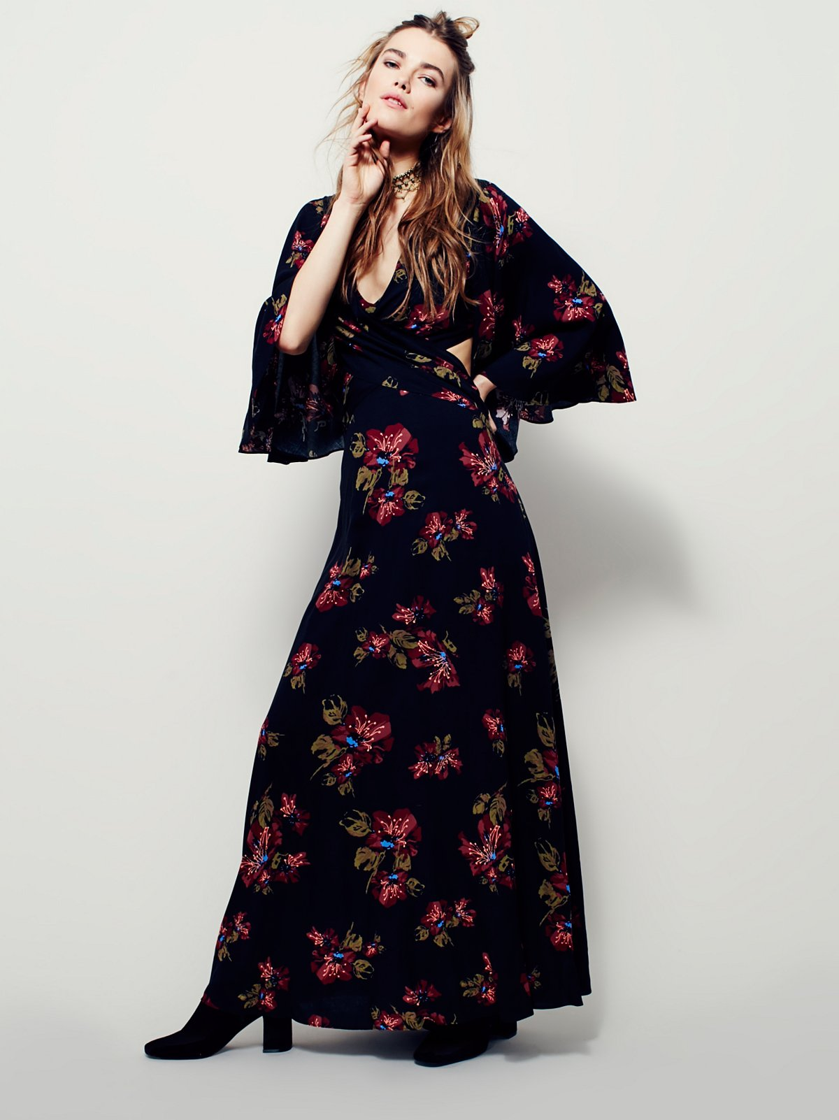 Hester Printed Maxi Dress