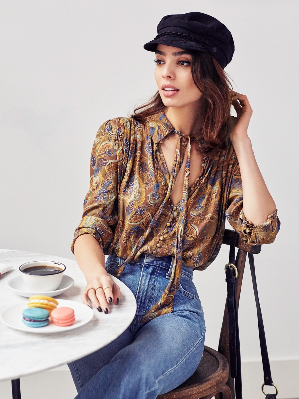 New World Print Blouse