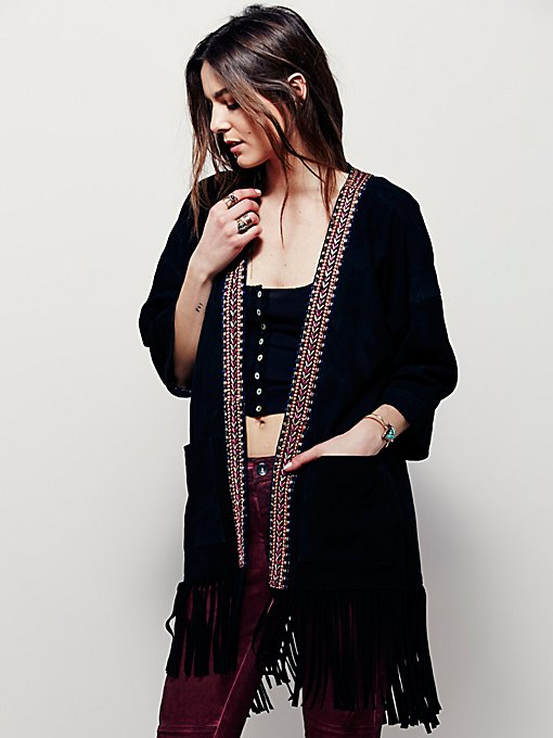 Product Image: Denman Embroidered Kimono
