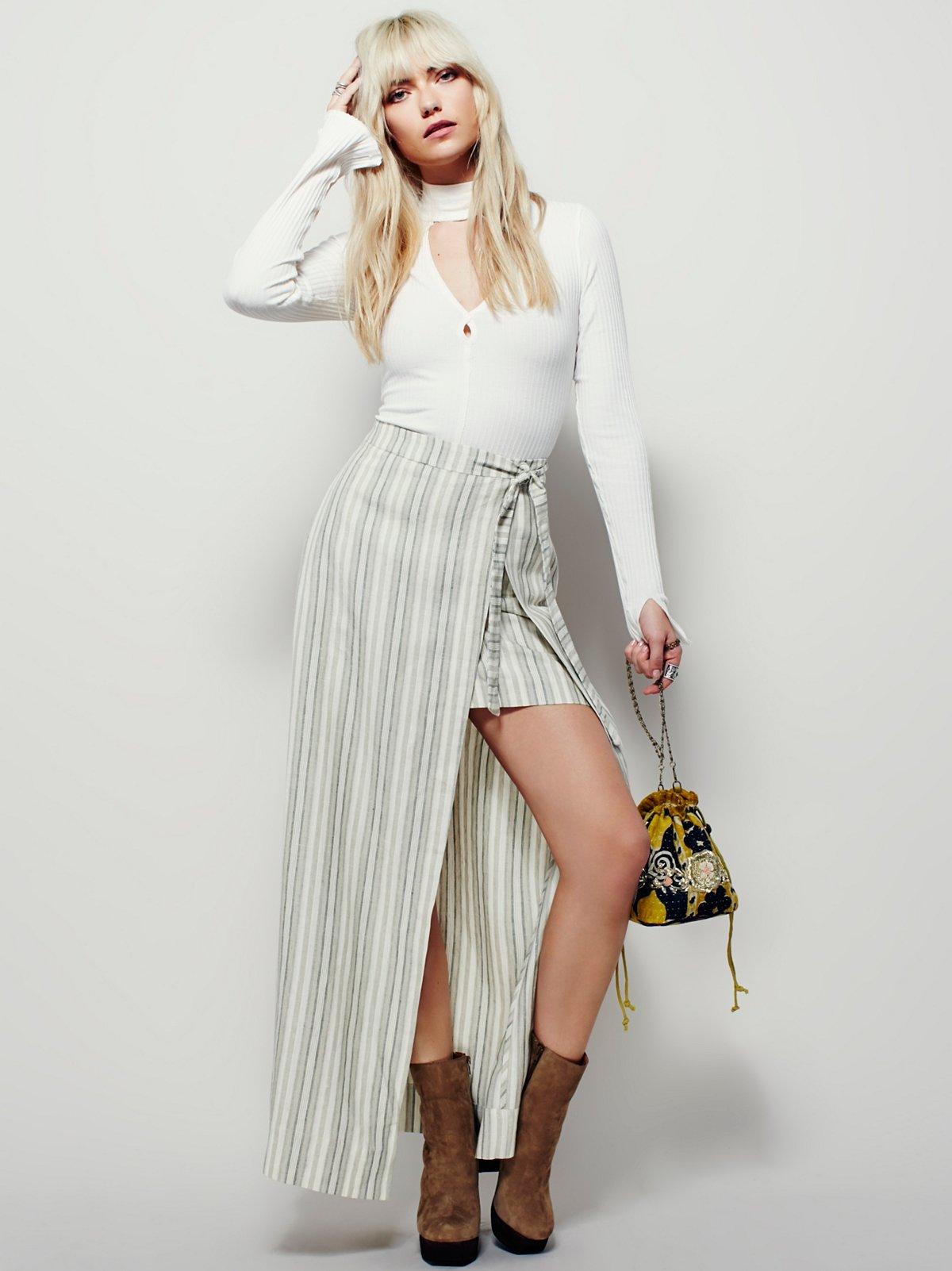 Getaway Linen Maxi Skirt
