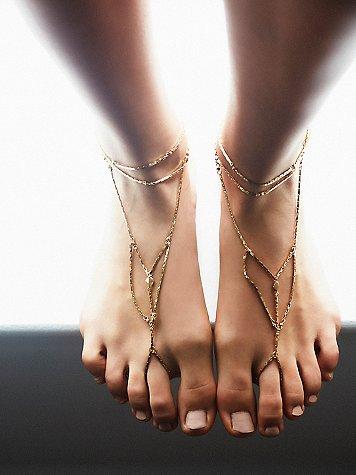 anklet, anklet chain, free people anklet, anklet 2016