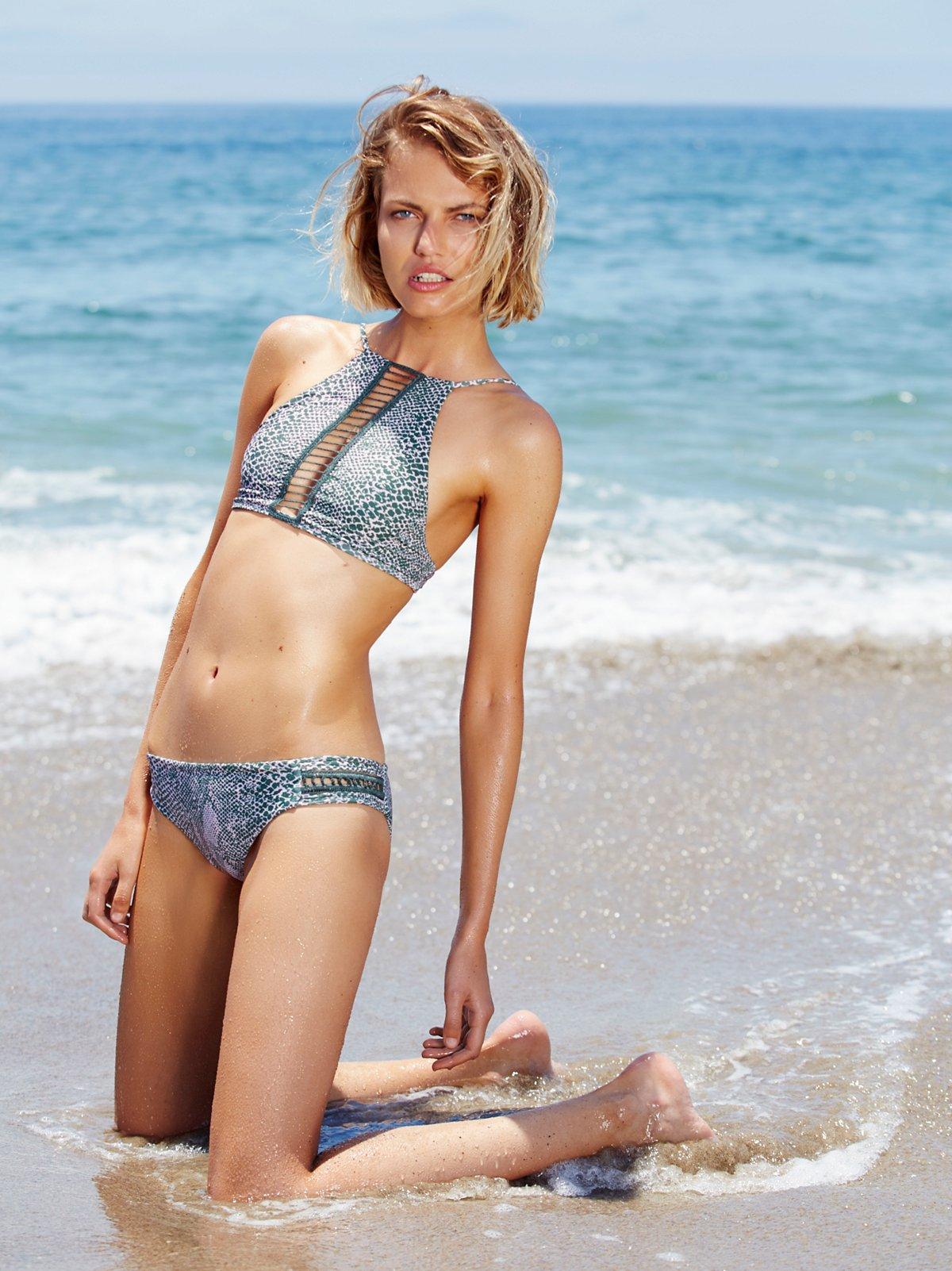 Bingin Printed Bikini Bottom
