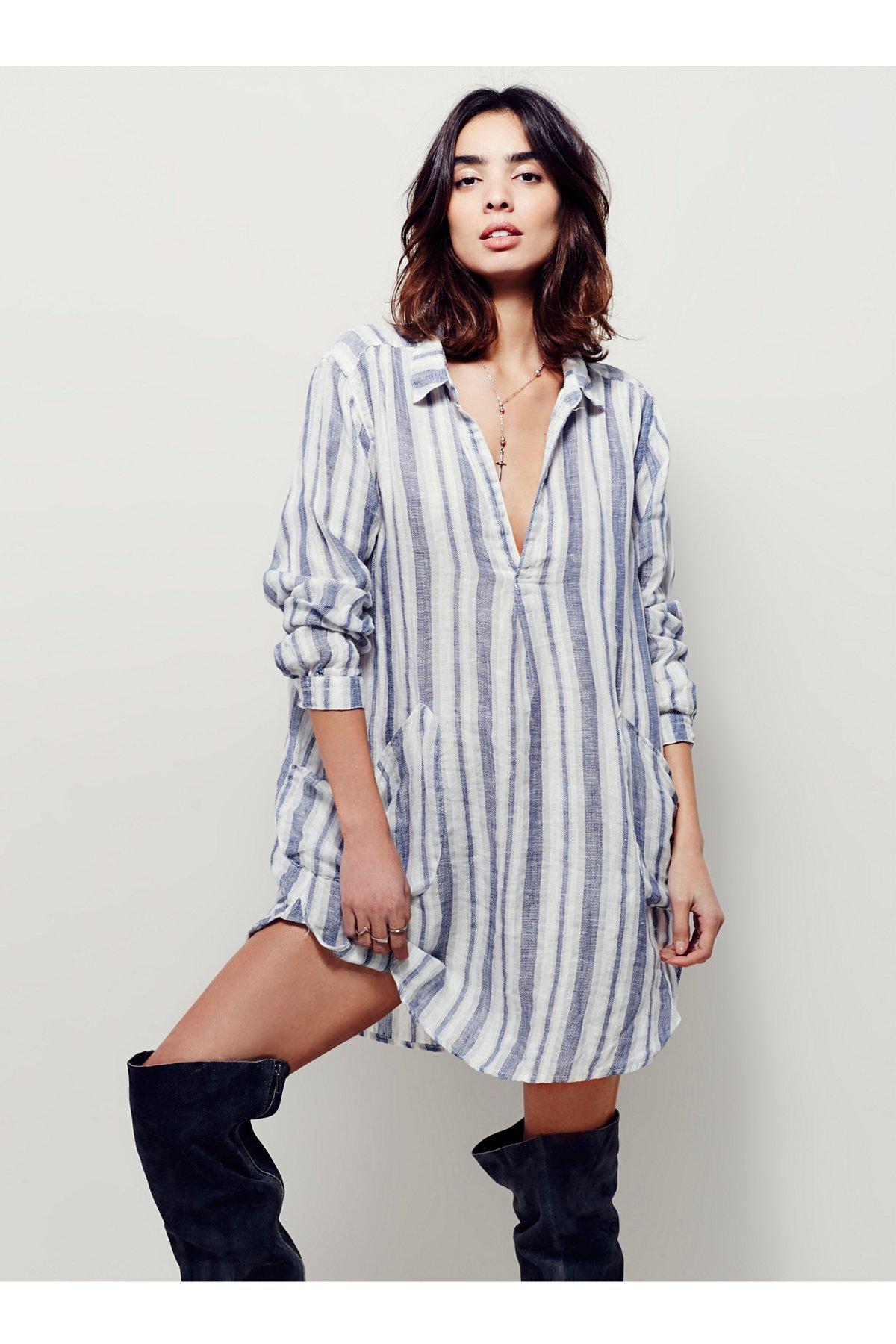 Cozy Linen Dress