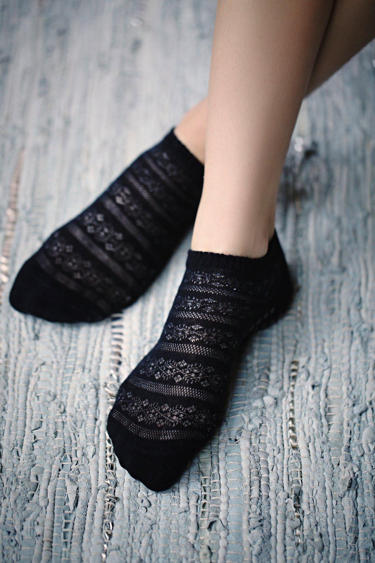 Crochet Yoga Sock