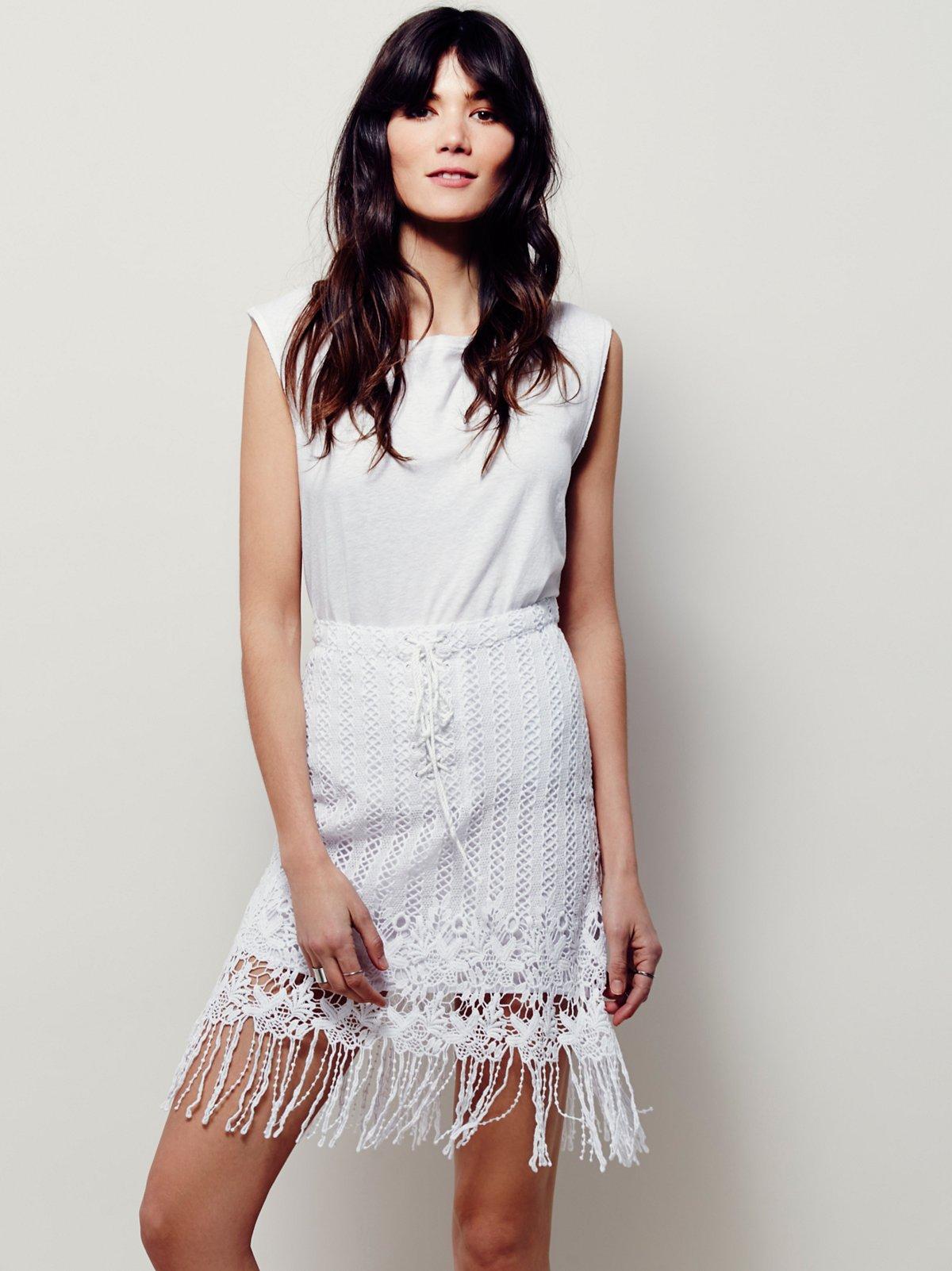 Cool Girl蕾丝半身裙
