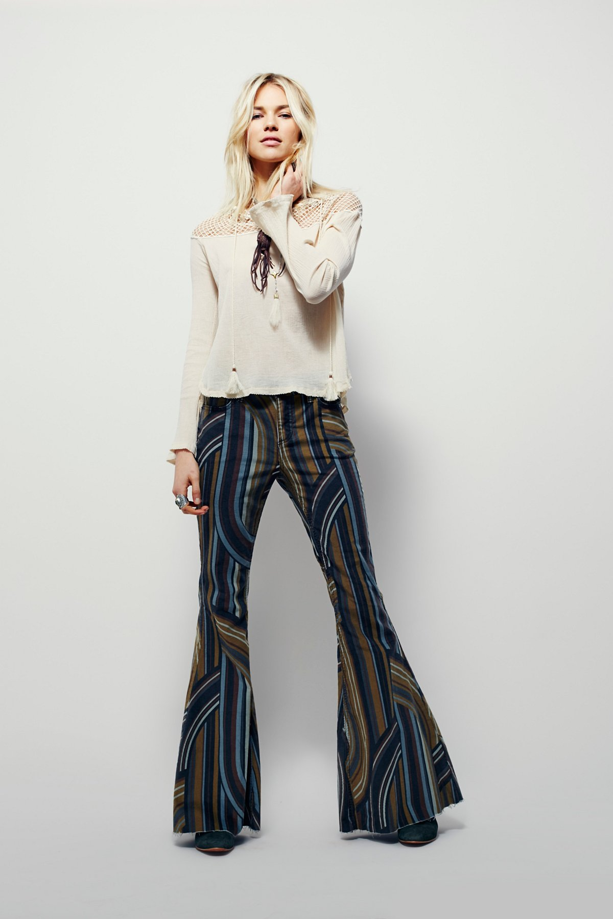 Eve Printed Cord Flare