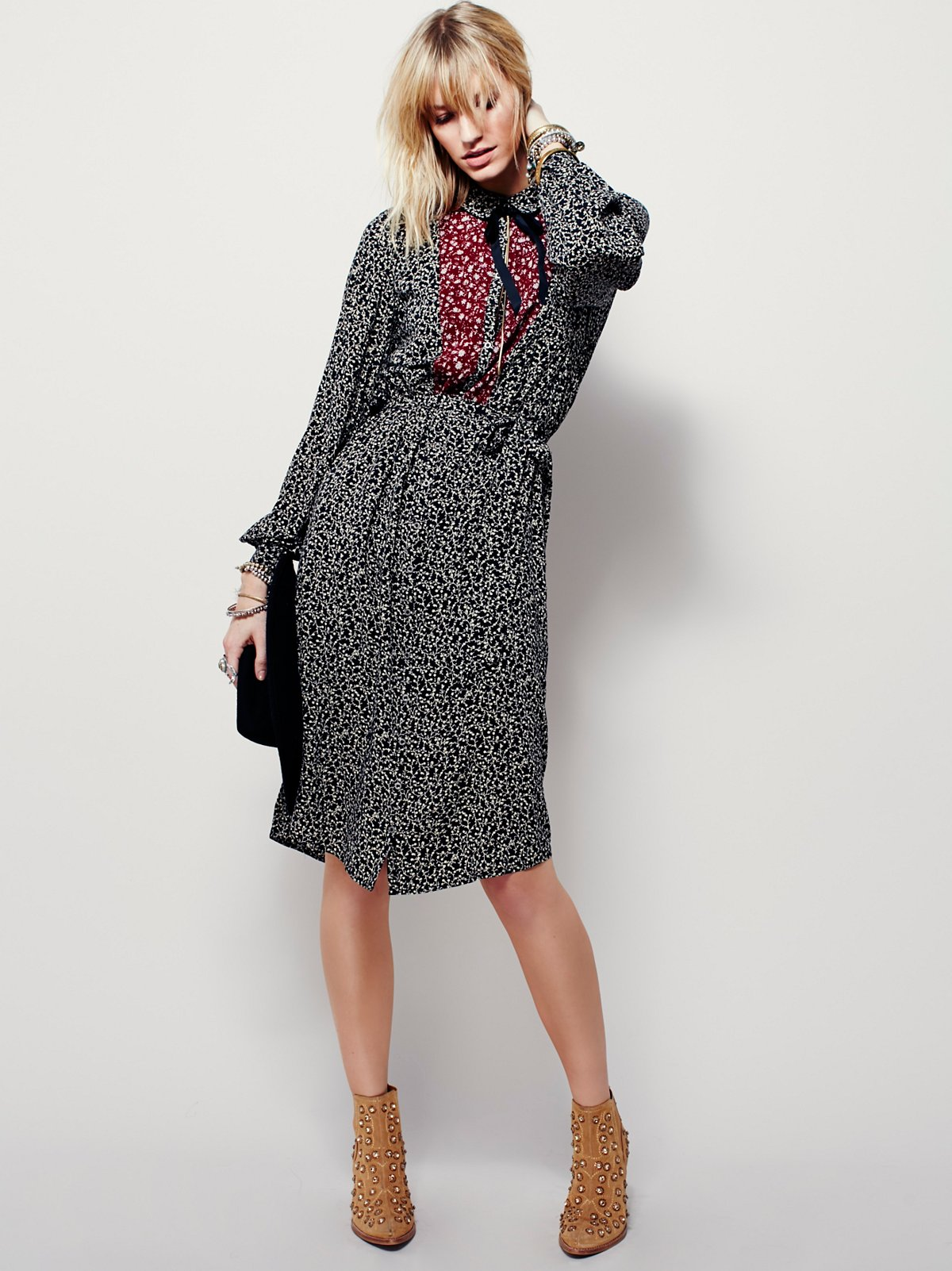 Nanette Midi Shirtdress