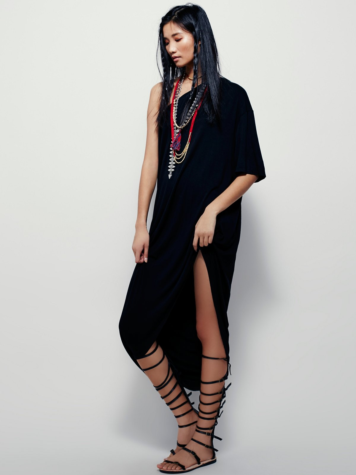 FPX单肩连衣裙