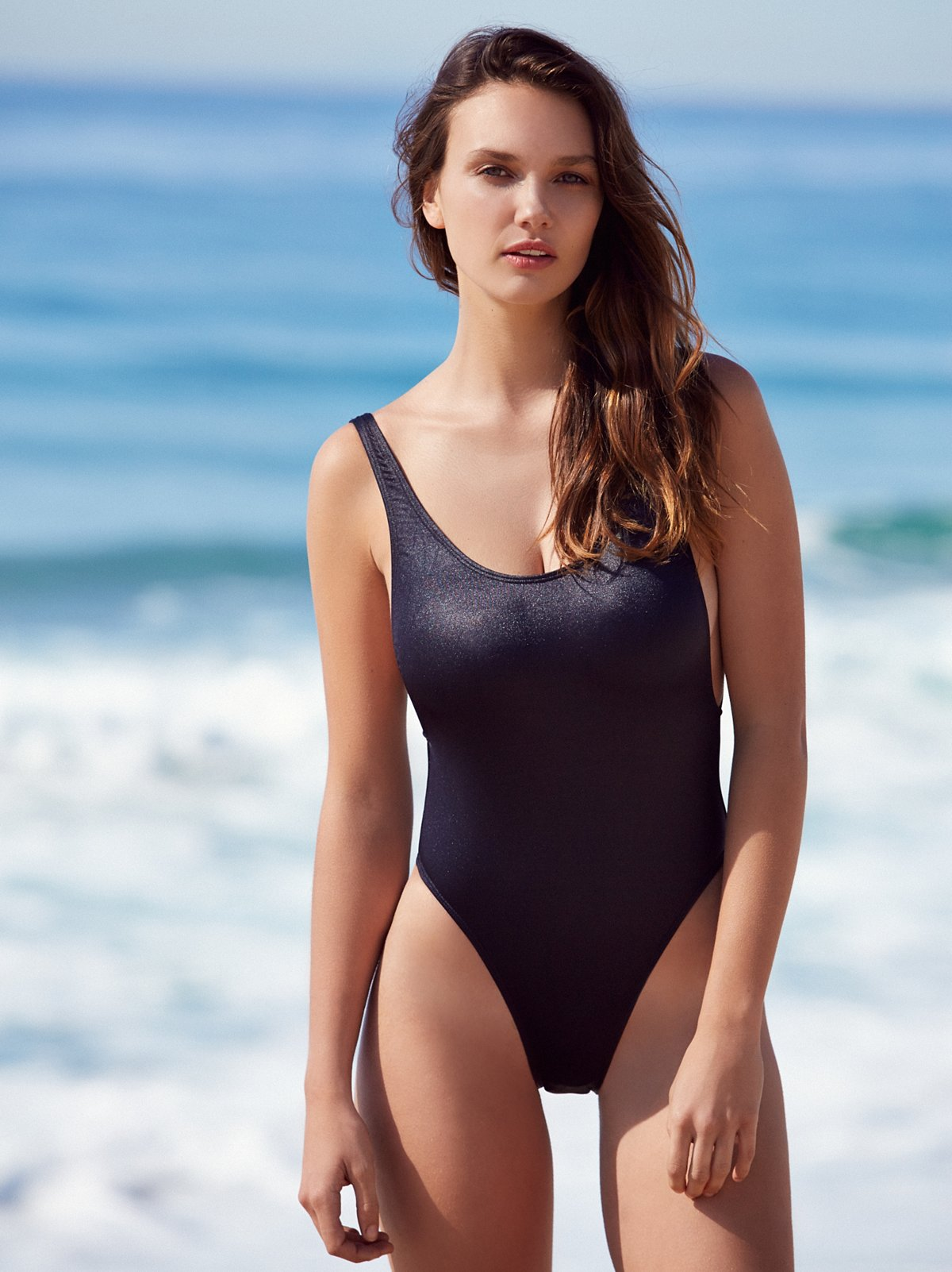 Carbon High Cut One Piece