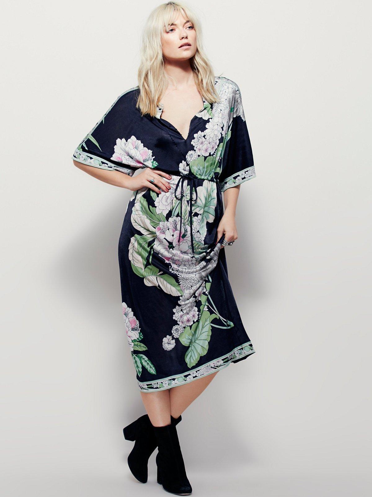Hibiscus花园连衣裙
