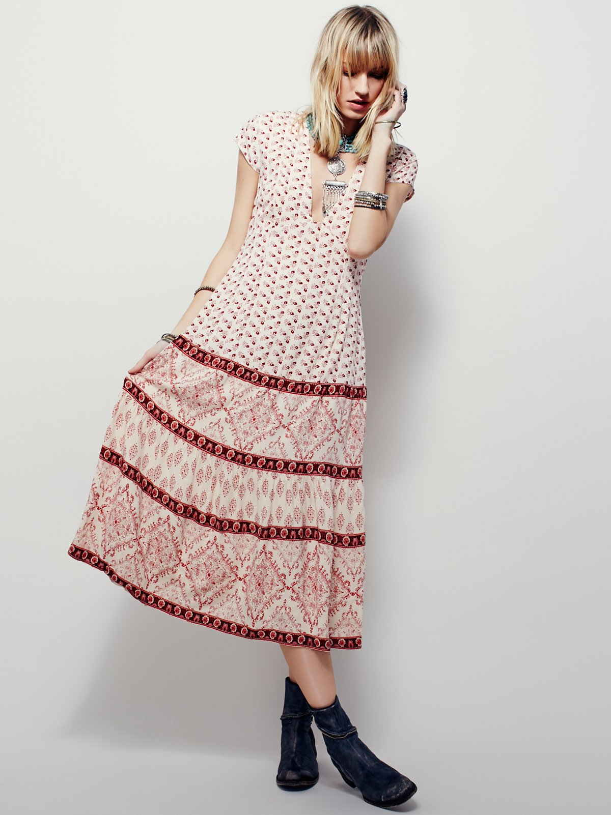 Bella Notte Printed Dress