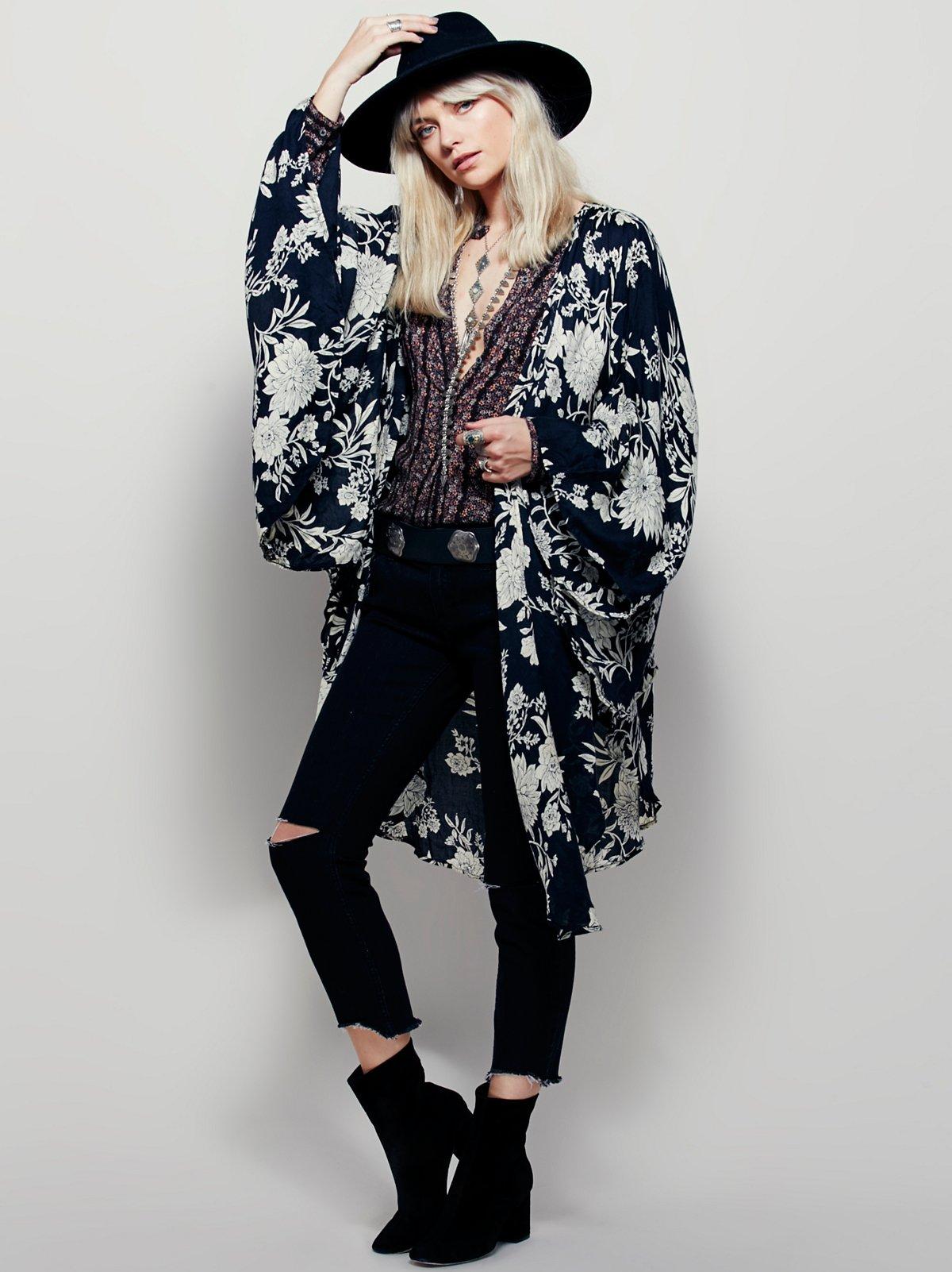 Cecilia Printed Kimono