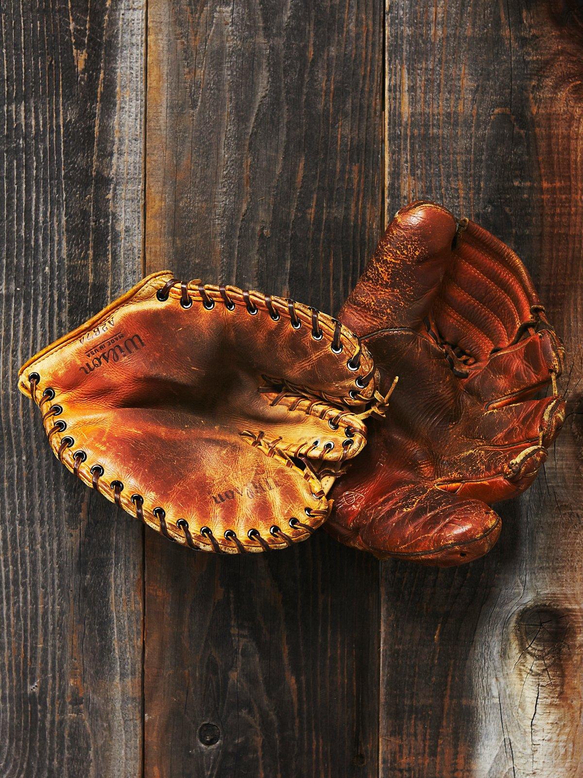 Vintage Assorted Baseball Gloves