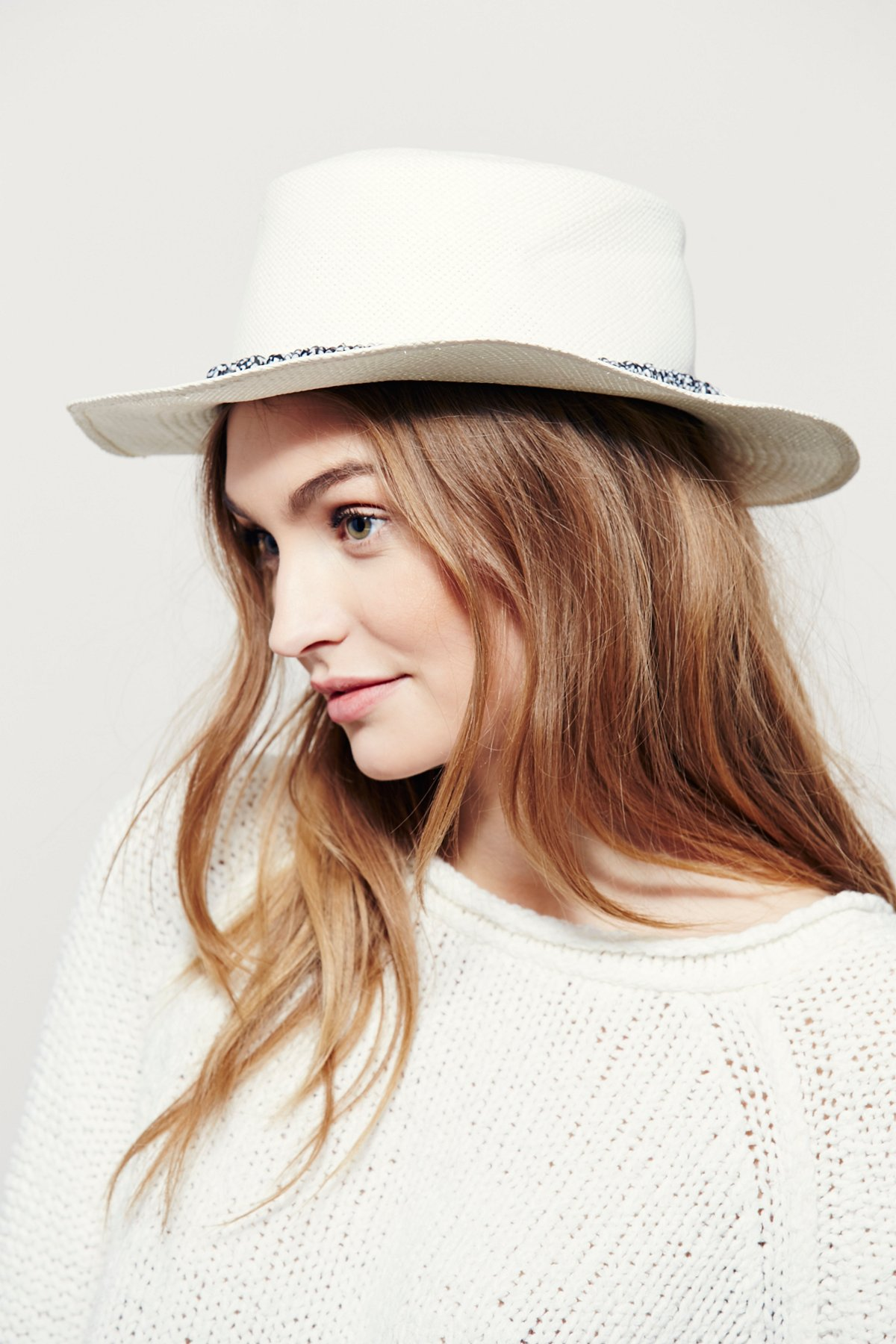Little Star Straw Boater