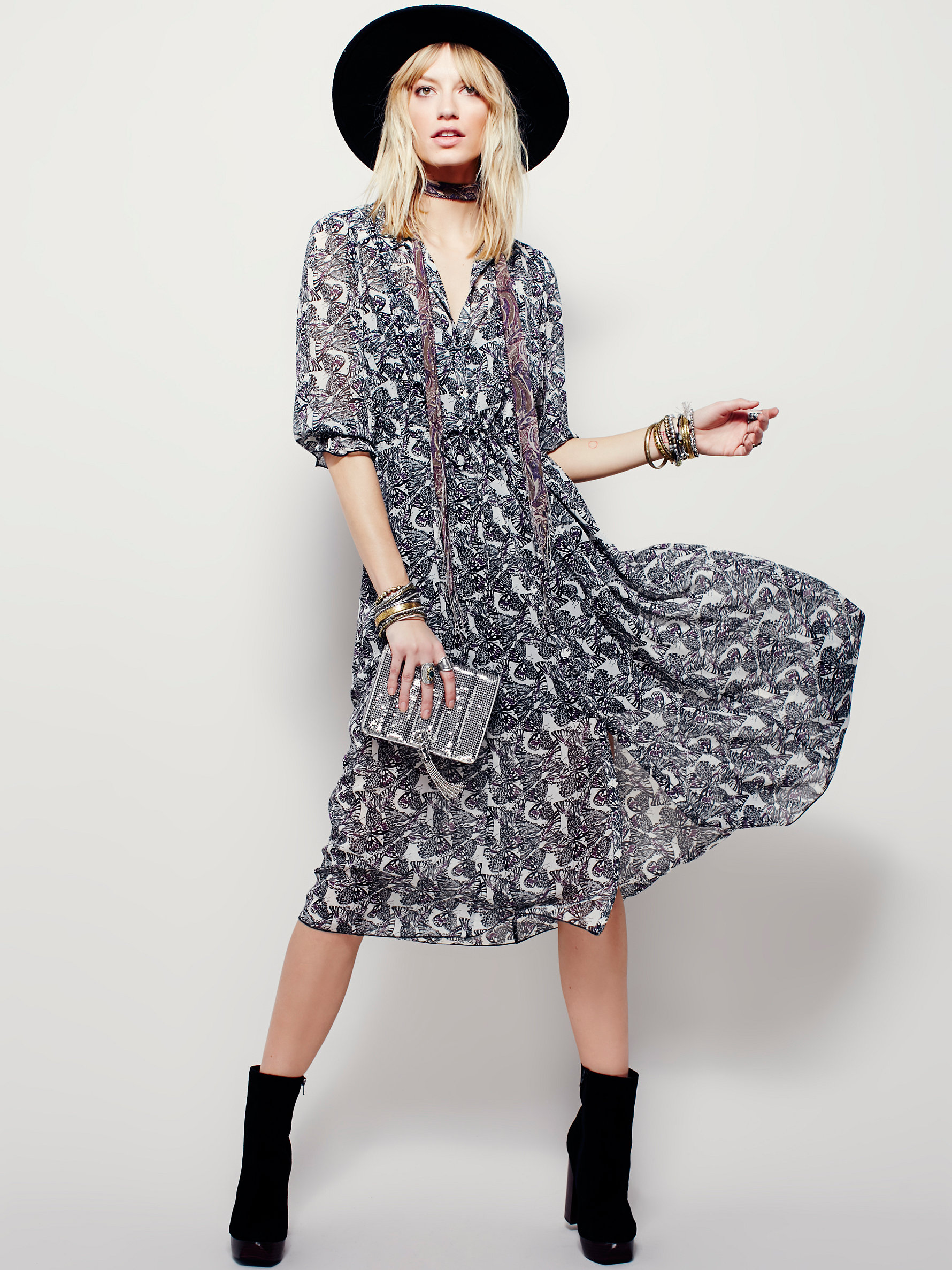 Butterfly Maxi Dress at Free People Clothing Boutique