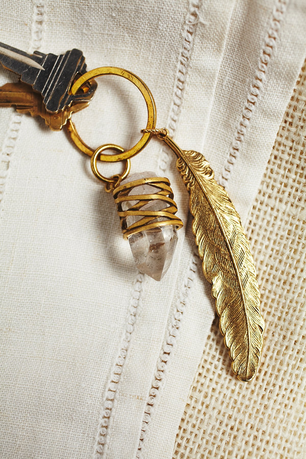 Quill Key Ring