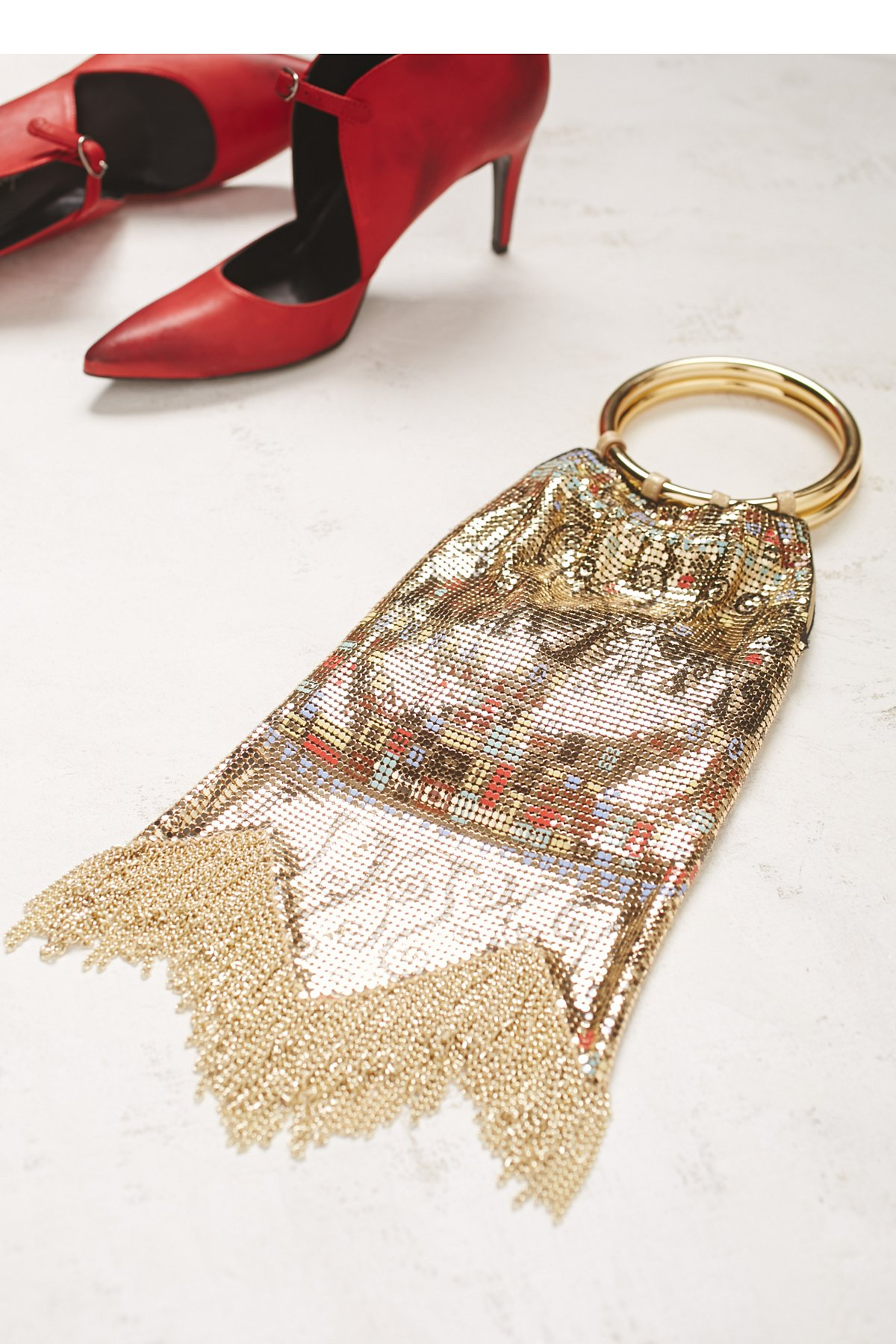 Vienna Double Ring Clutch