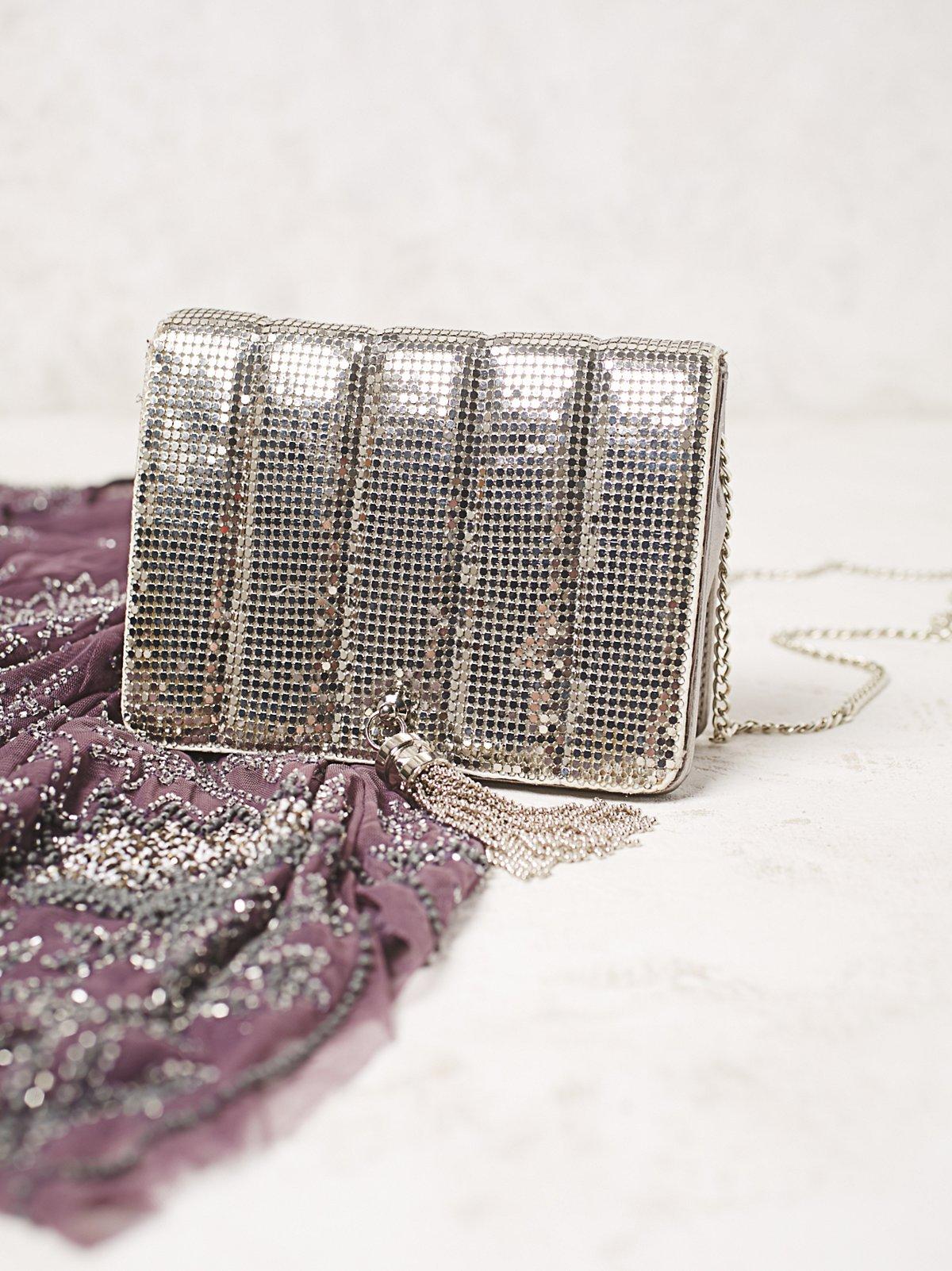 Parisian绗缝斜挎包