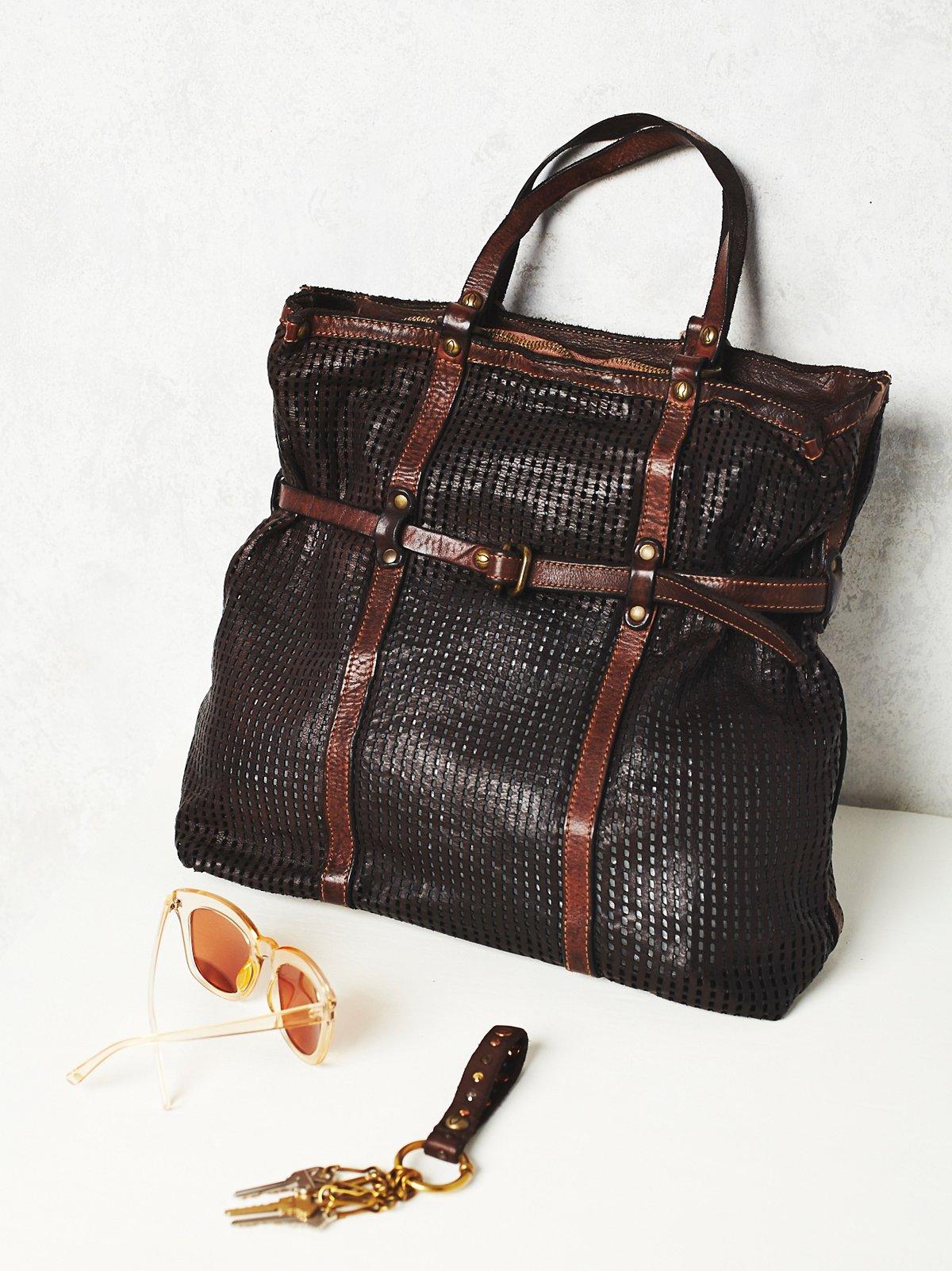 Novella皮革手提包