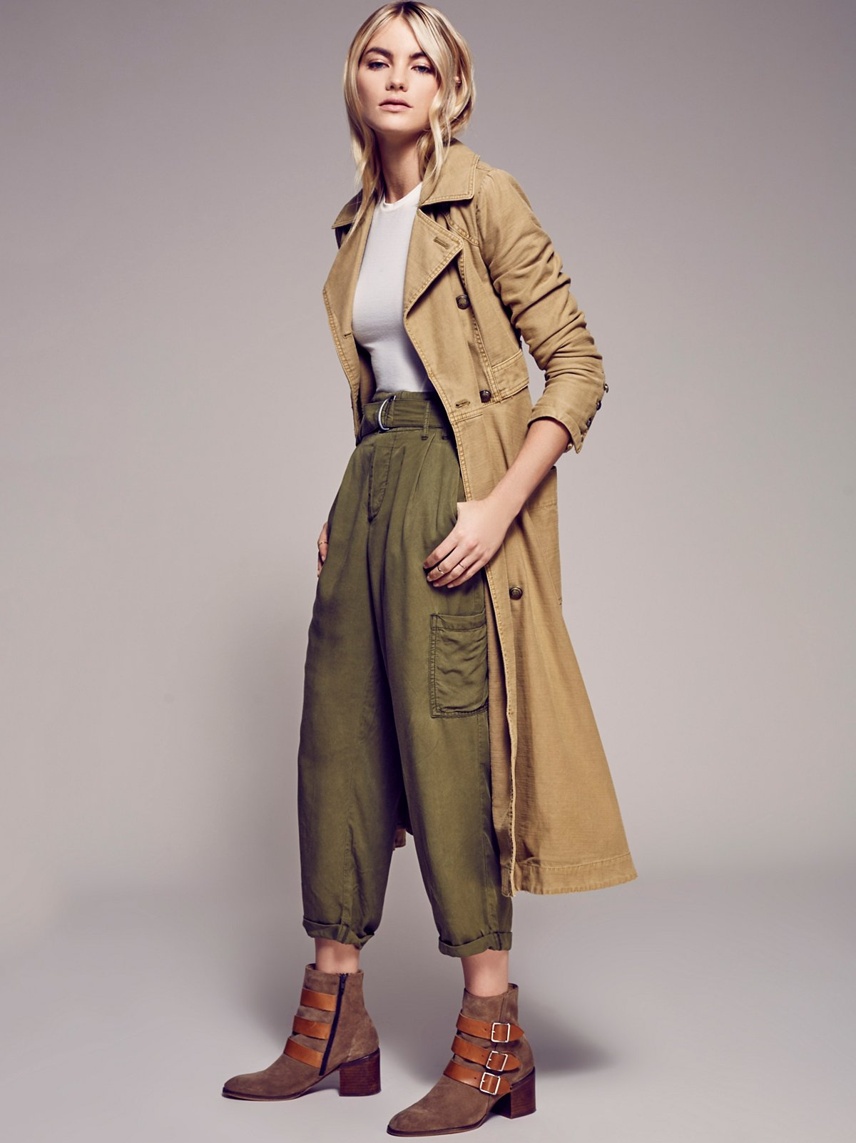 Full Sweep Trench Coat