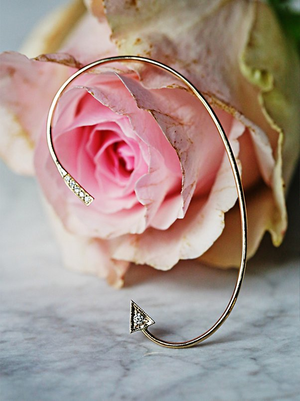 Diamond Dagger Ear Cuff at Free People Clothing Boutique