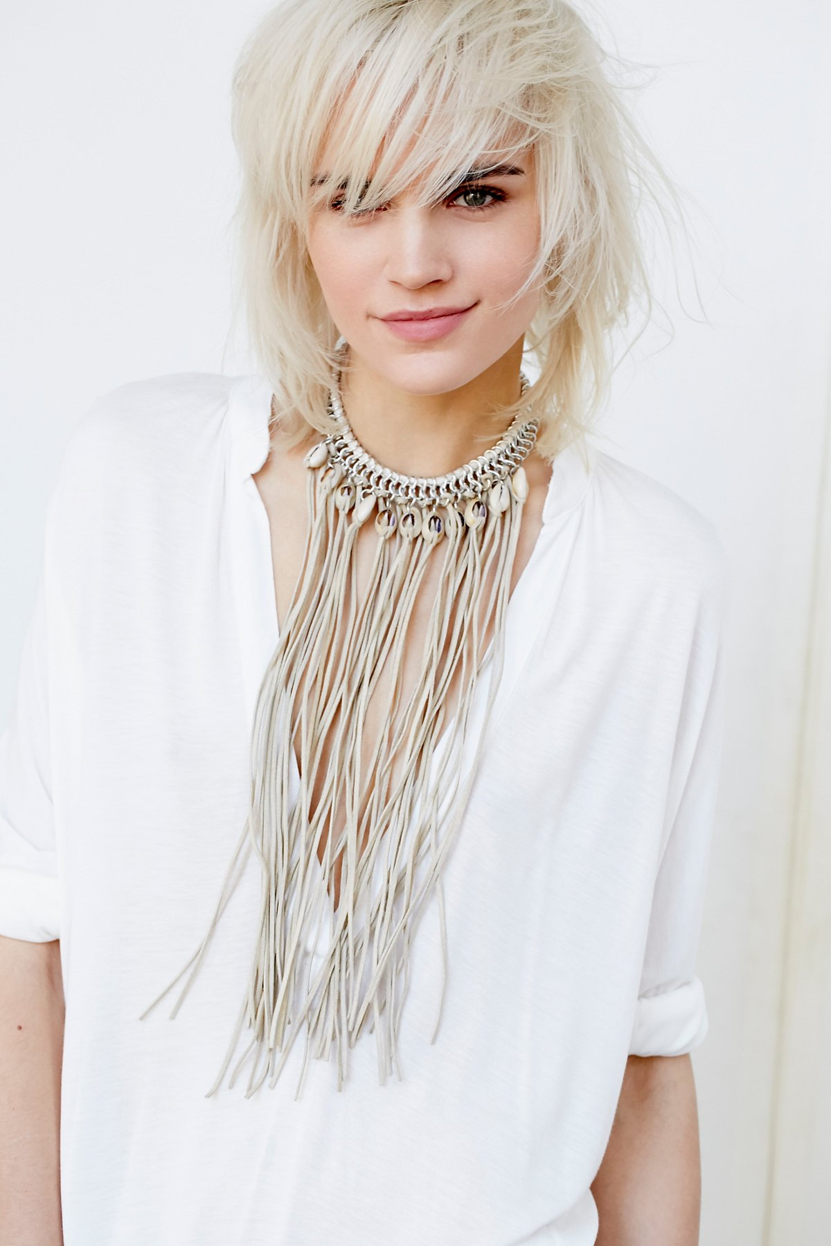 Wild Waters Fringe Necklace