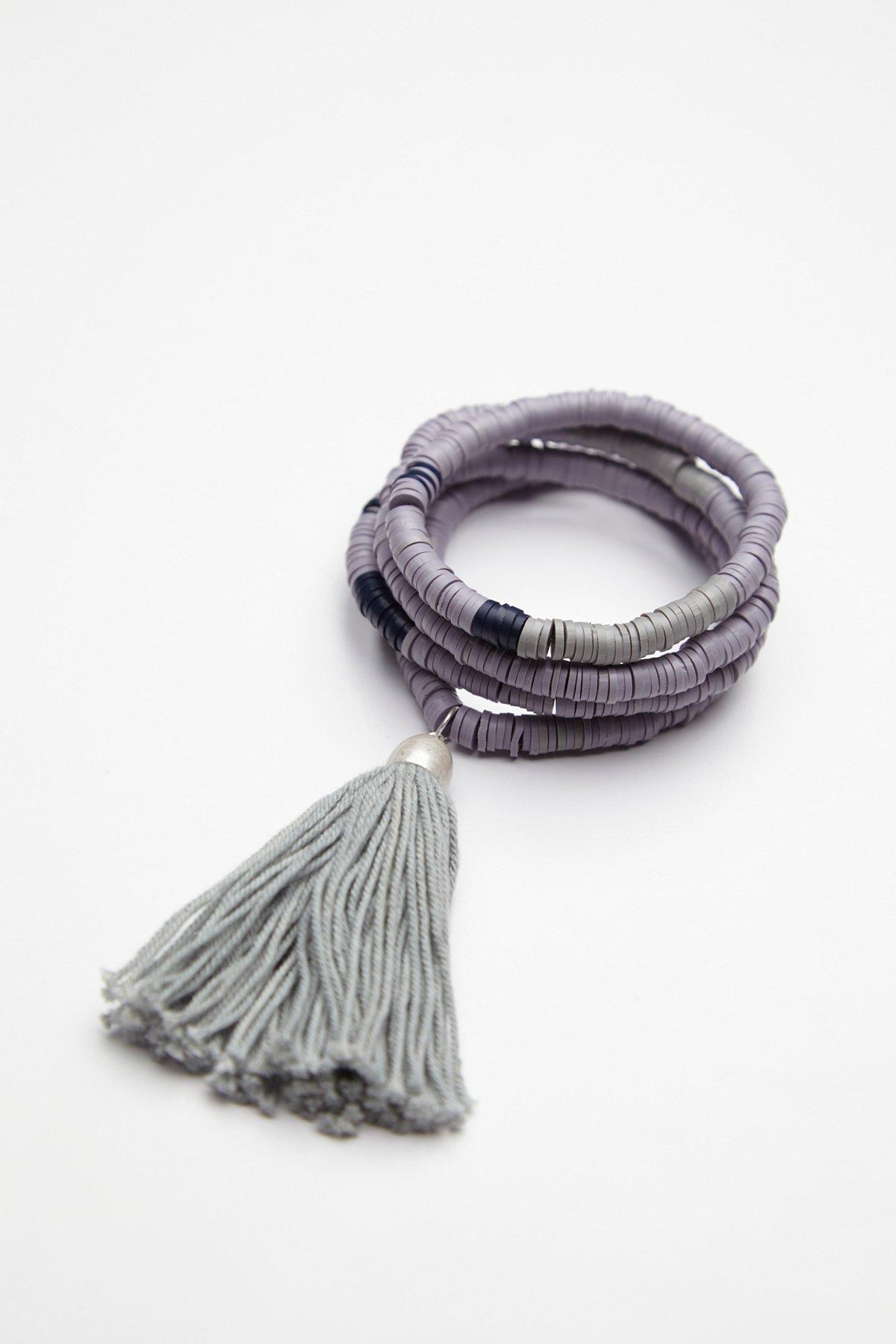 Pastel Wave Wrap Bracelet