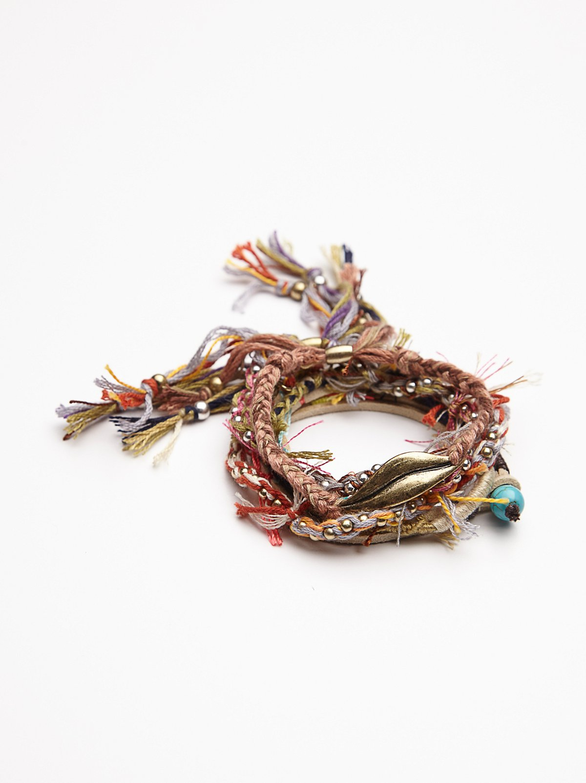 Wild Skies Fabric Bracelet Set