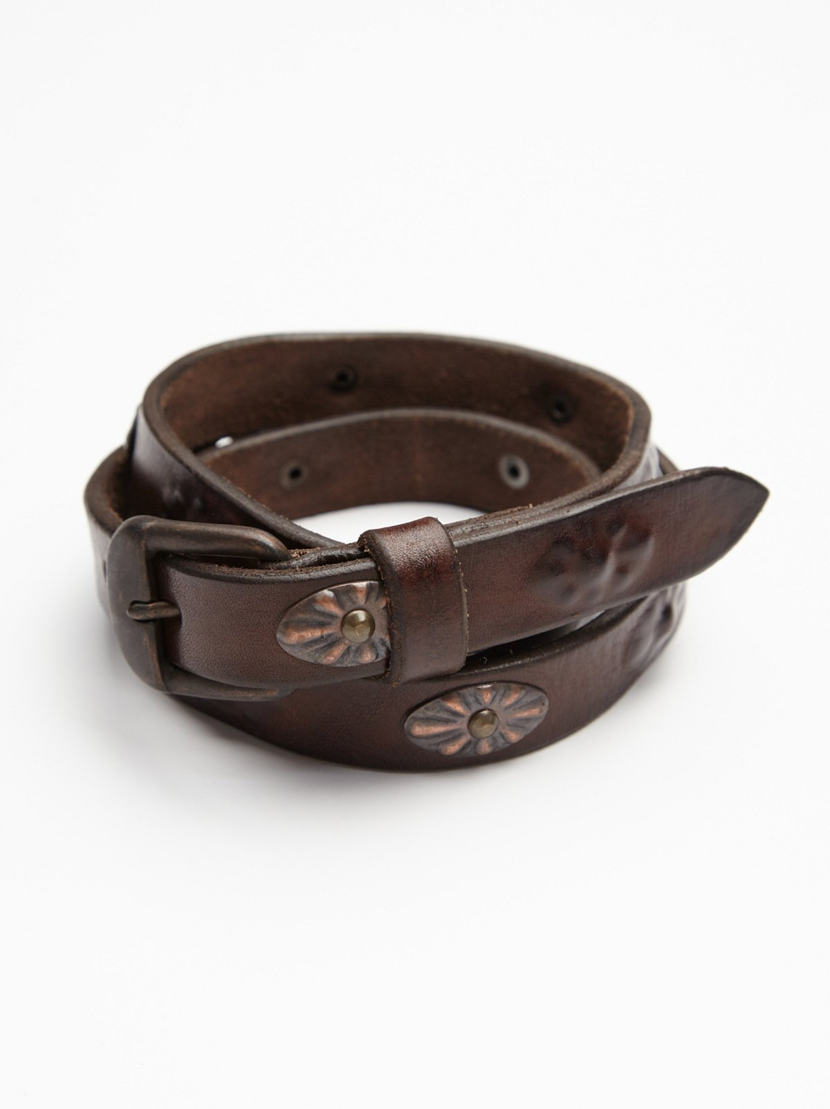 Hammered Concho Belt
