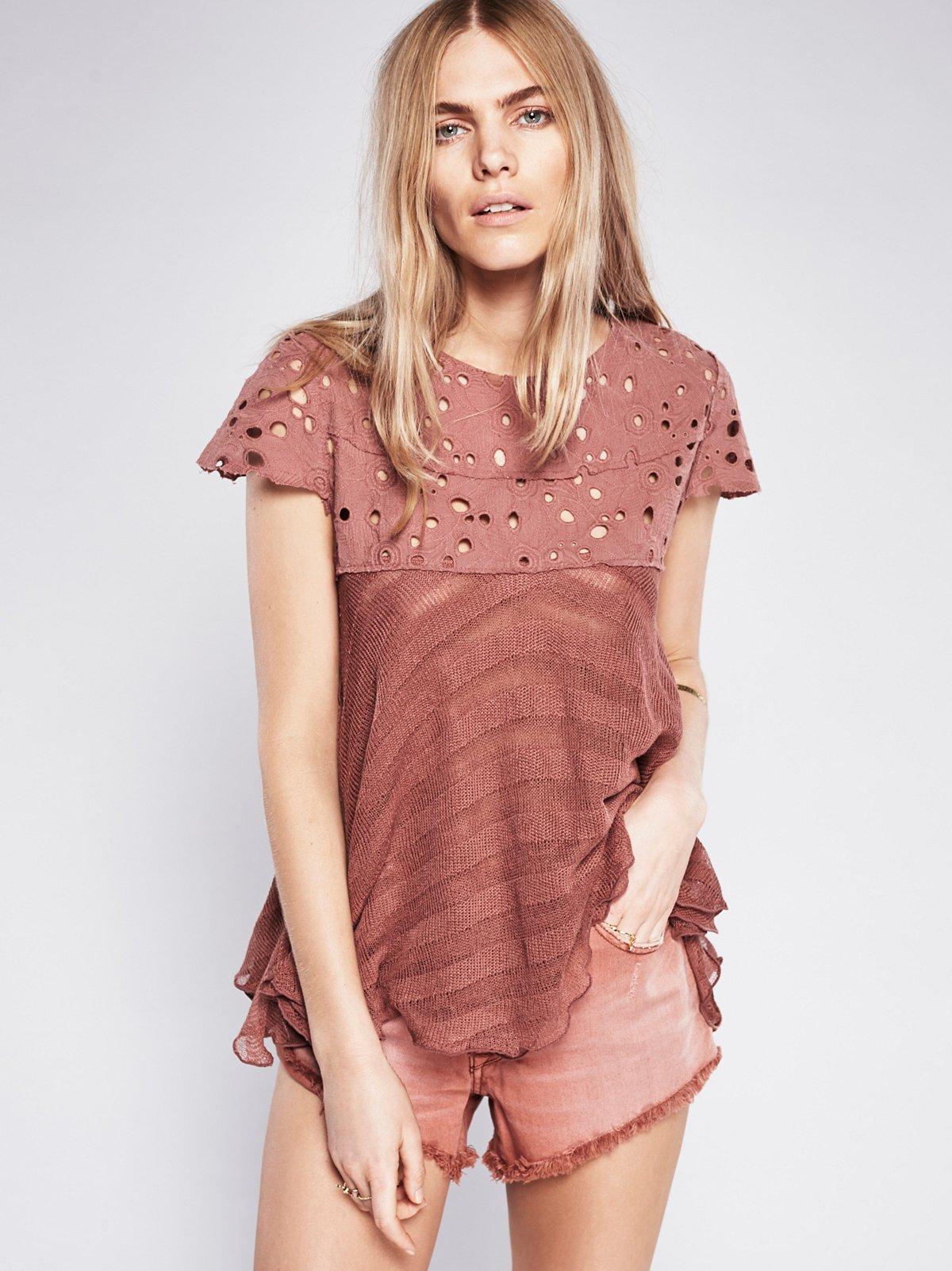 Melba Short Sleeve Sweater