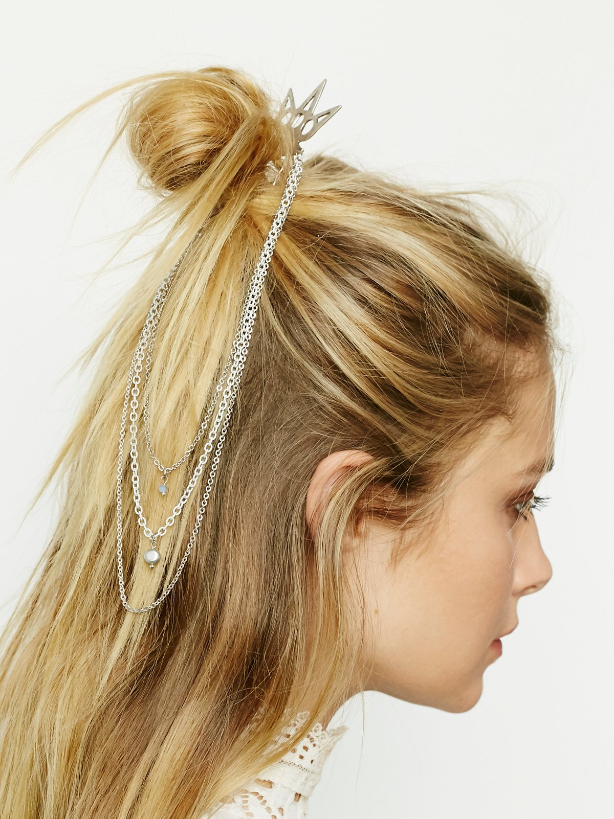 Chain Waterfall Hair Comb