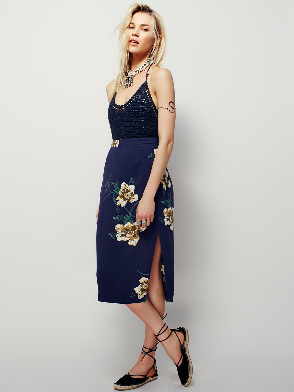 South City Midi Skirt