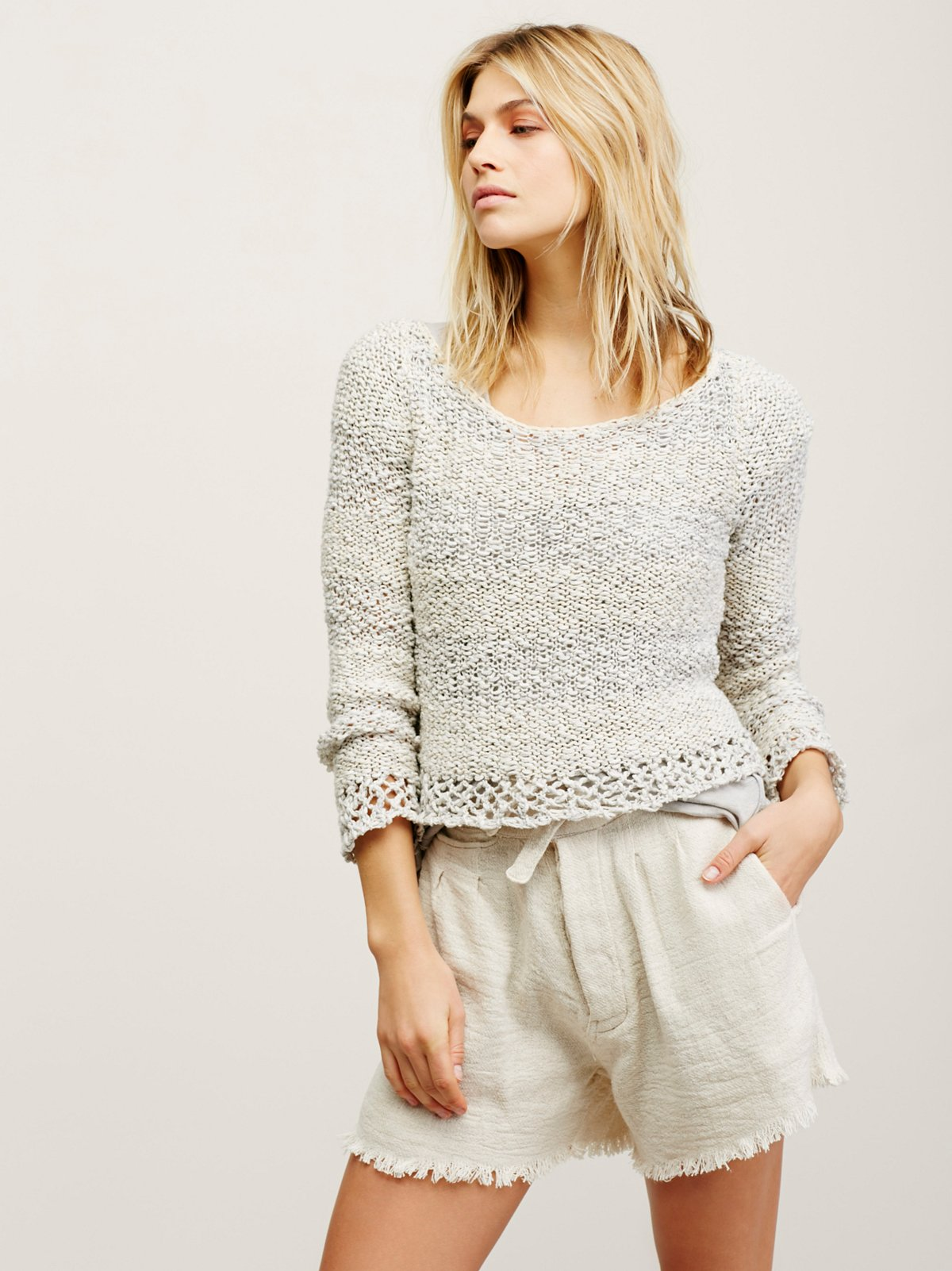 Gauzy Pullover