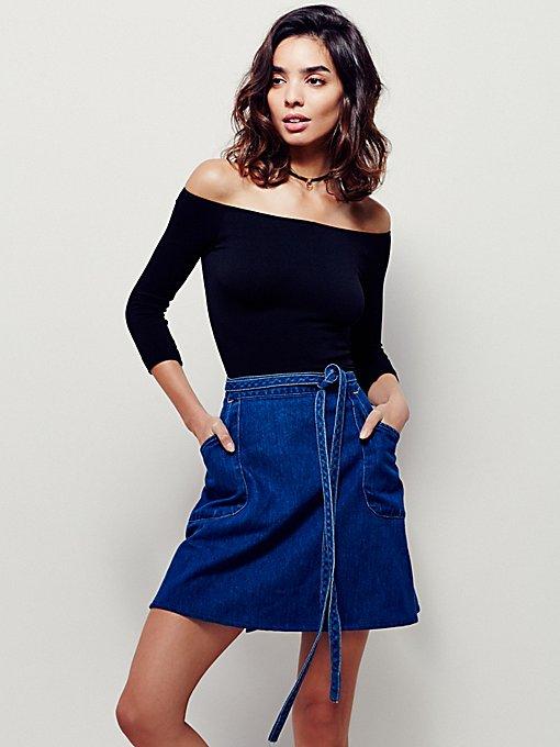 Product Image: FP Vintage Revival Mini Skirt Wrap