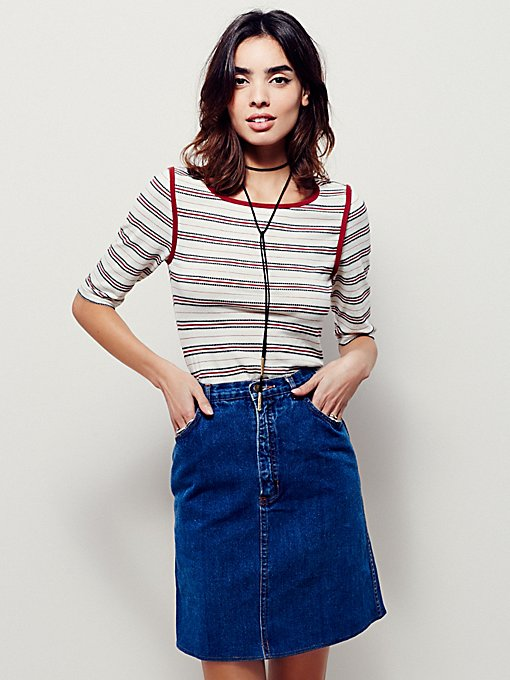 Product Image: FP Vintage Revival Mini Skirt Zip