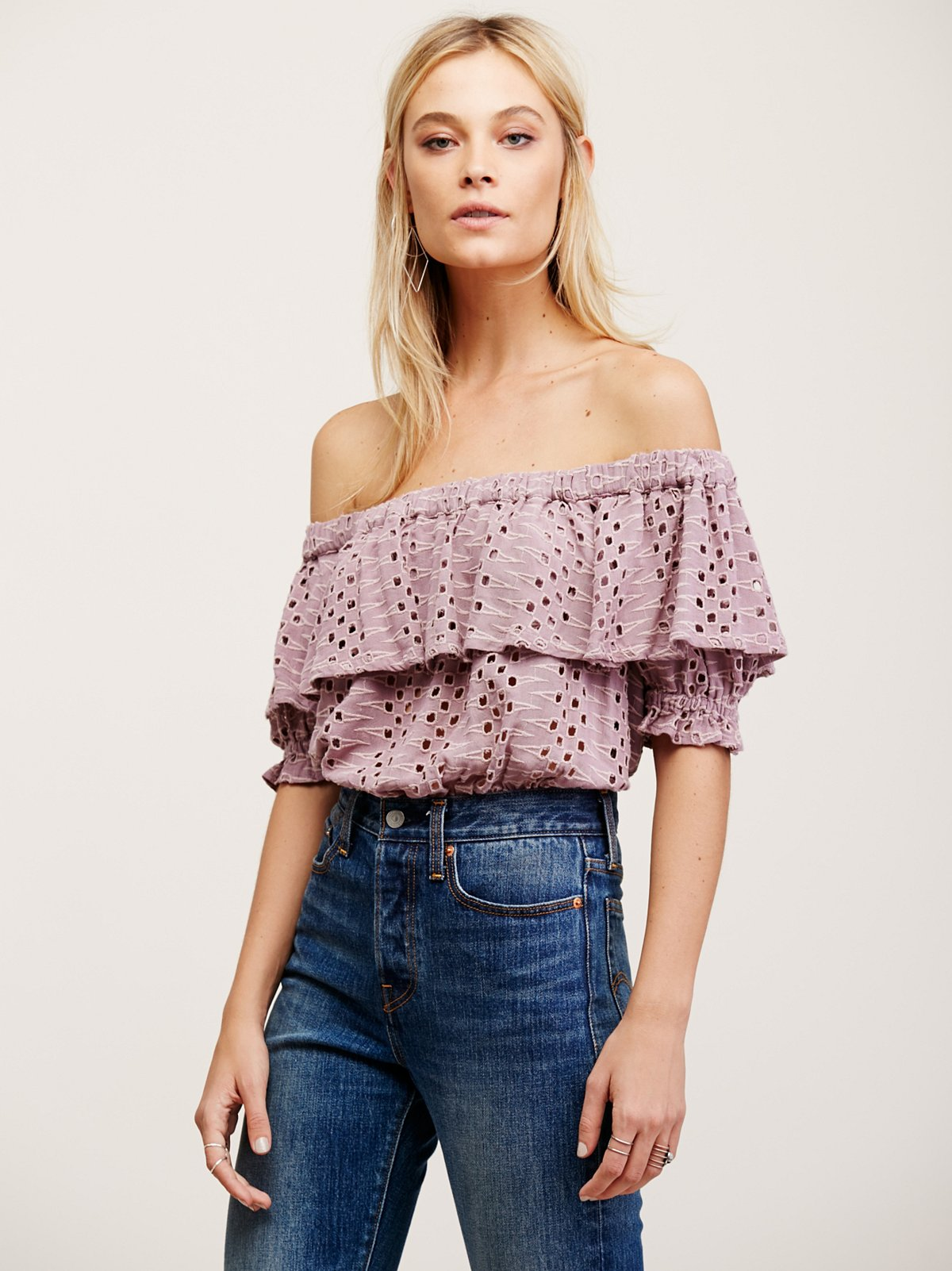 That Girl Off The Shoulder Top
