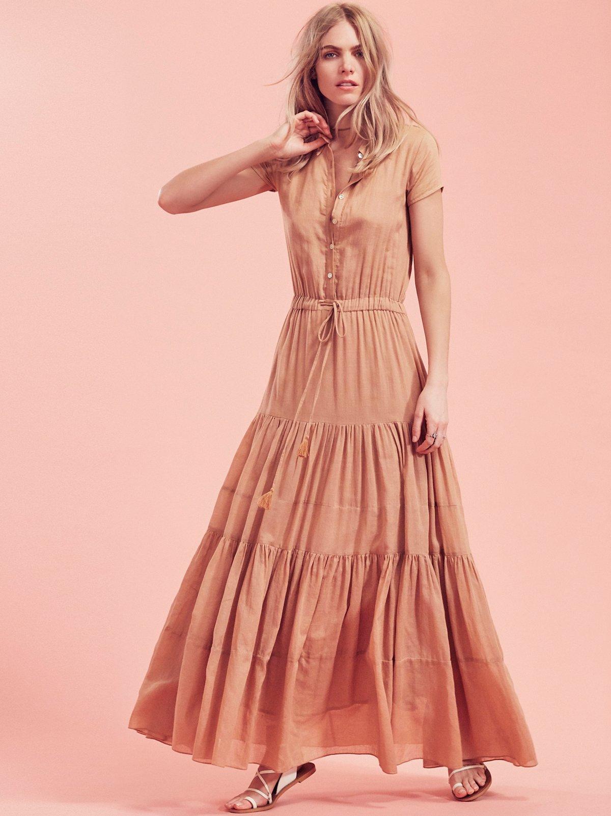 Nathalie短袖连衣裙