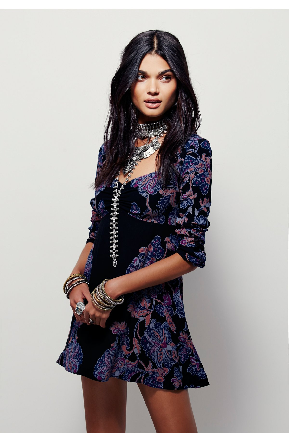 Sophia印花裙衫