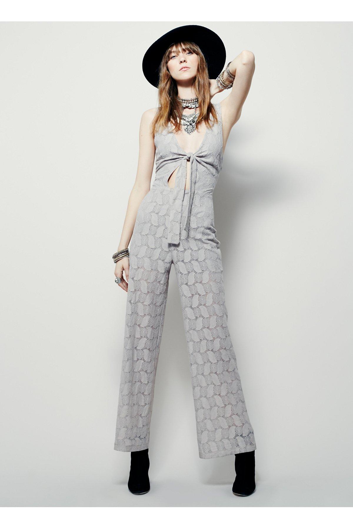 Hot 4 U连身裤