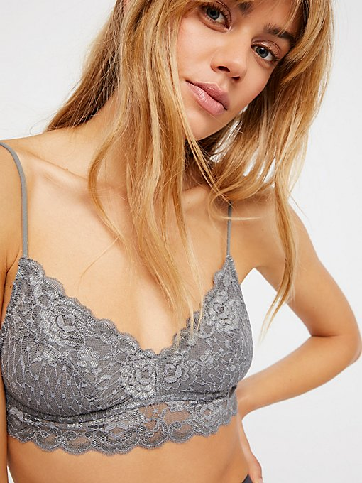Product Image: Essential Lace Sweetheart Bralette