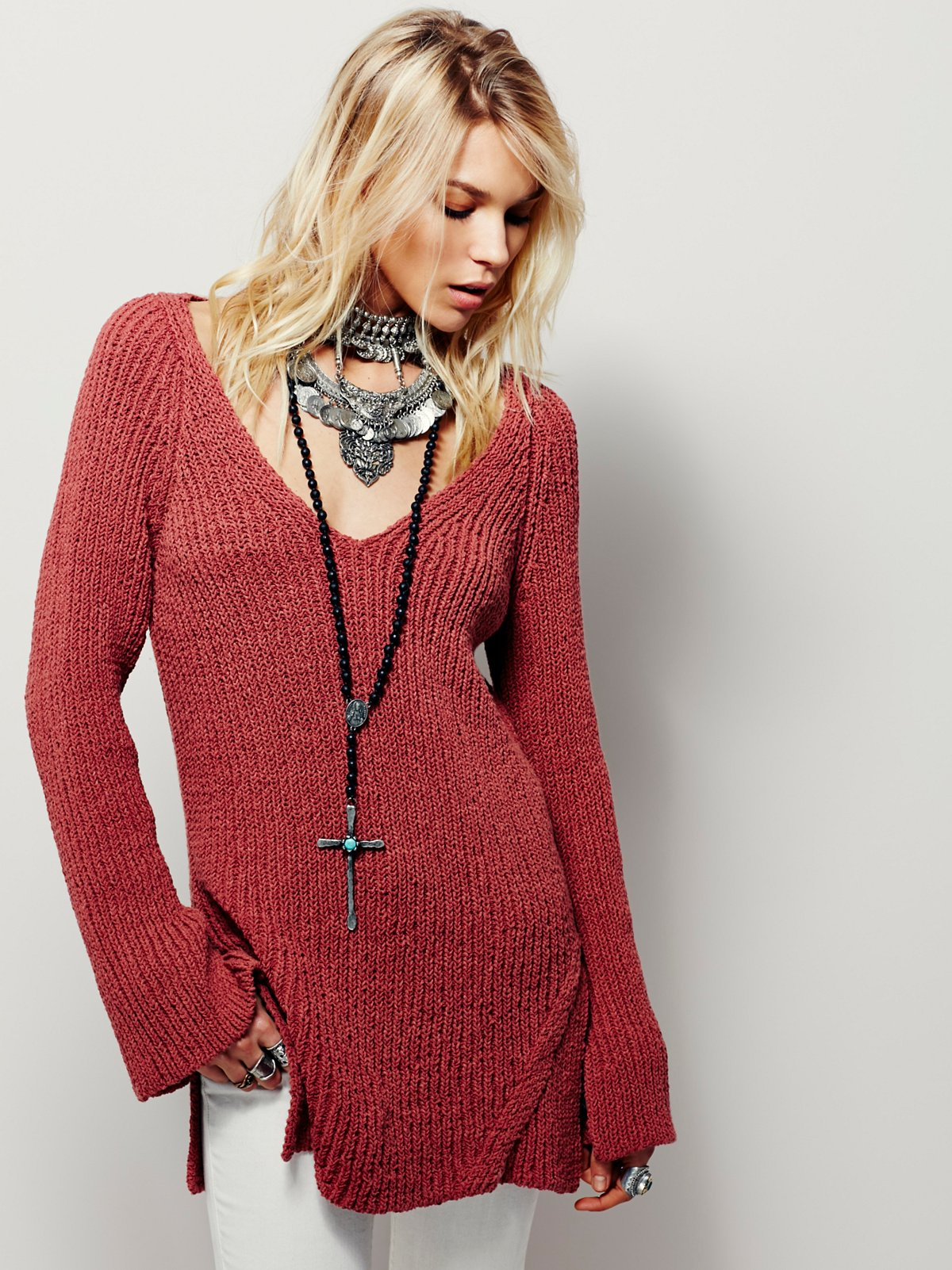 Passion Flower Pullover