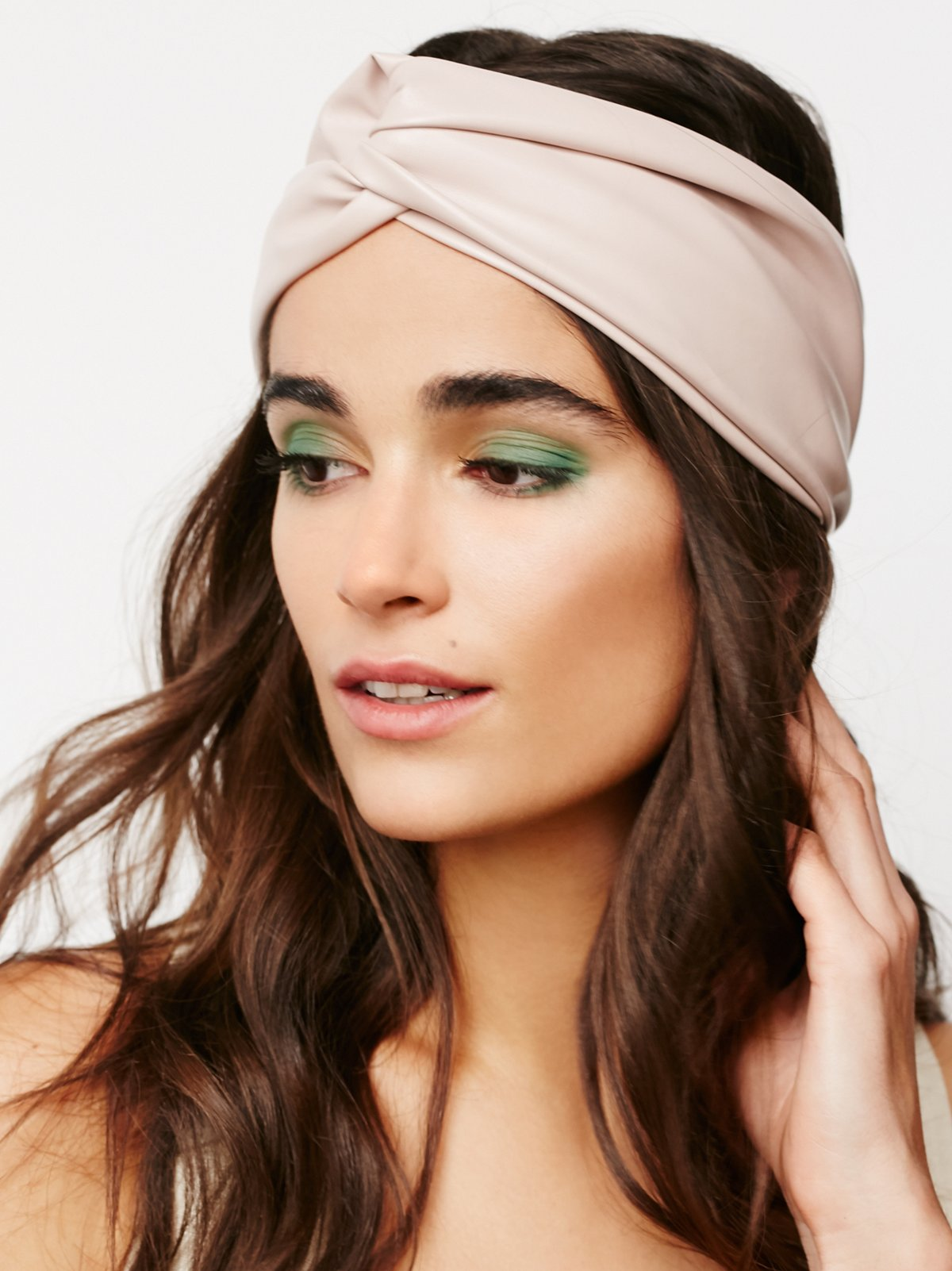 Versailles Vegan Leather Turban