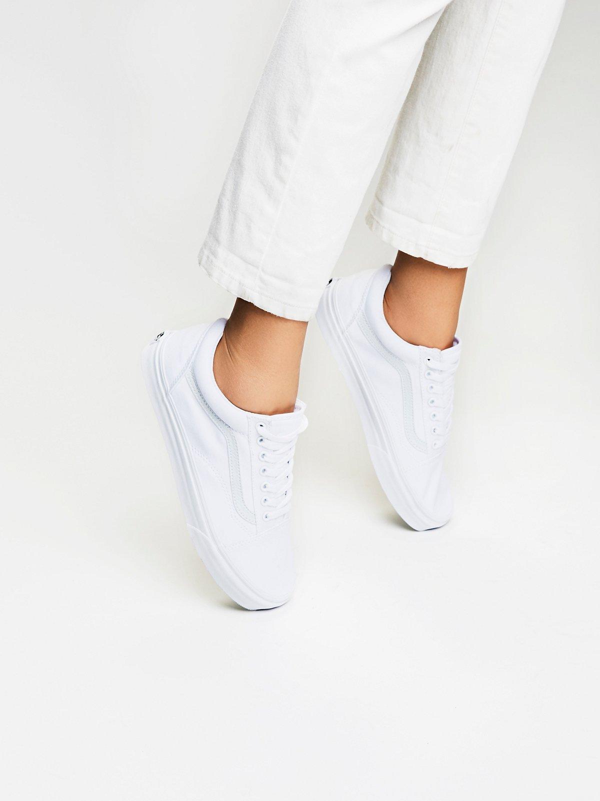 Old Skool帆布运动鞋