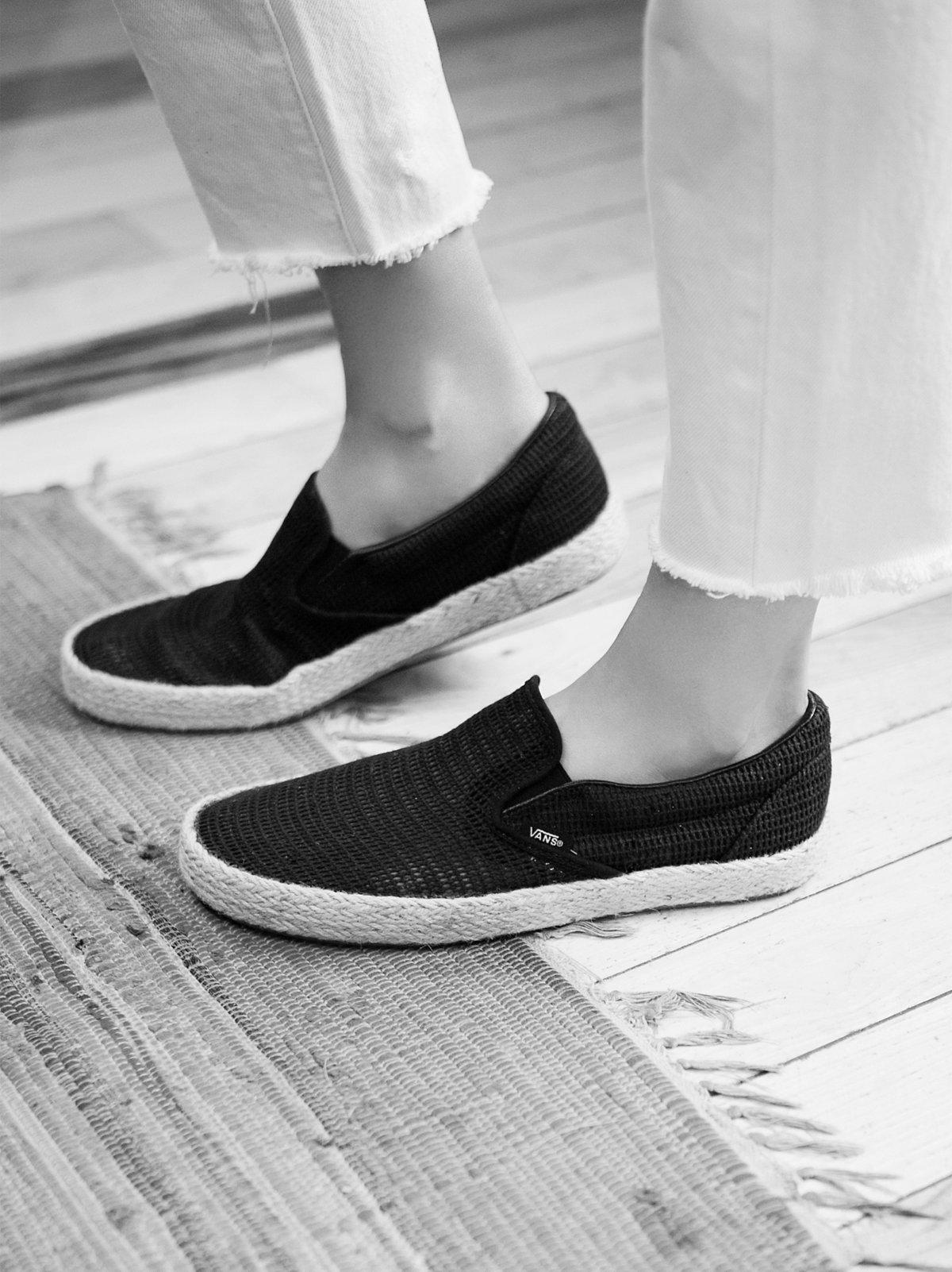 Classic Slip-On Espadrille Sneaker